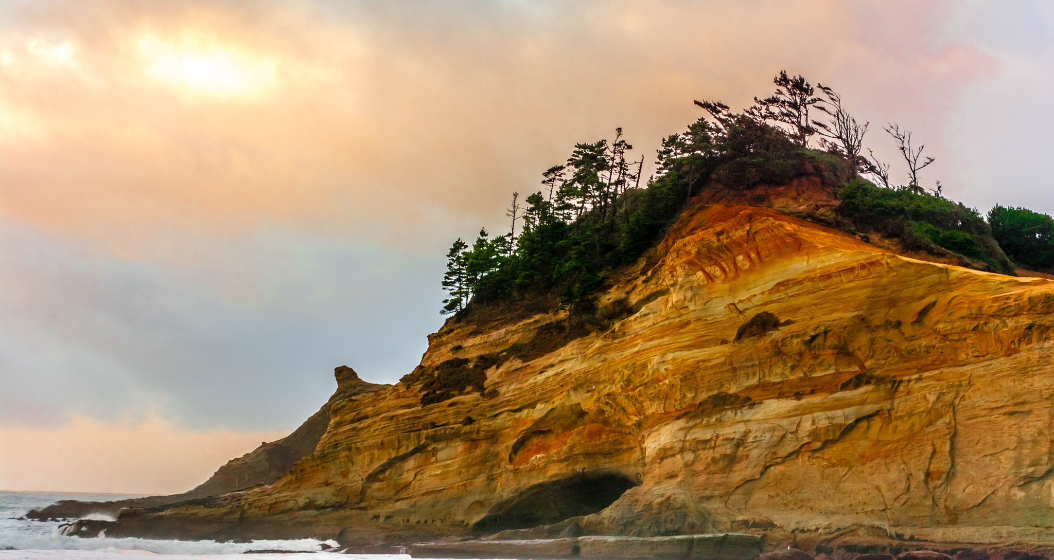 Sandstone Sunset by Gillianne Fields