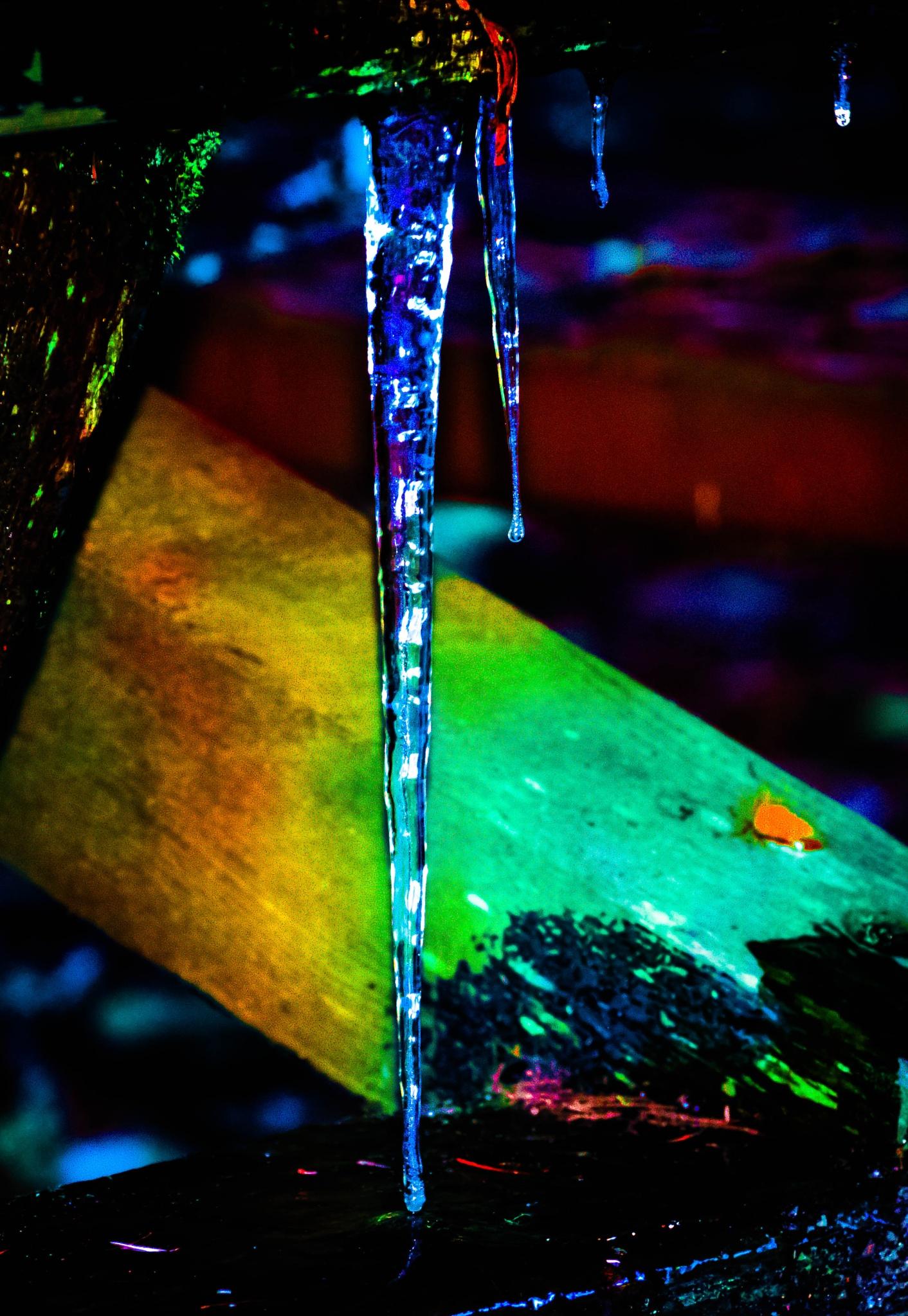 ice crystal by Gillianne Fields