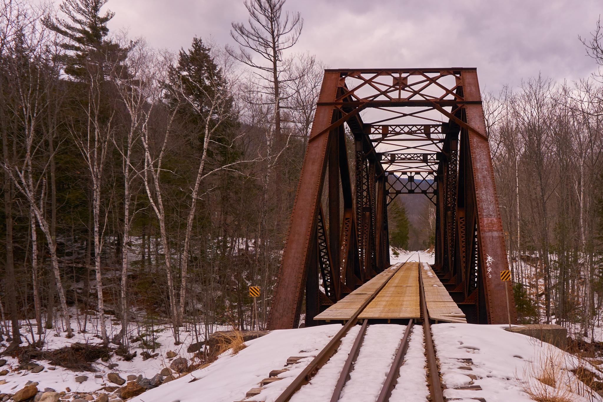 old rail roads by Jerry Pandolfi