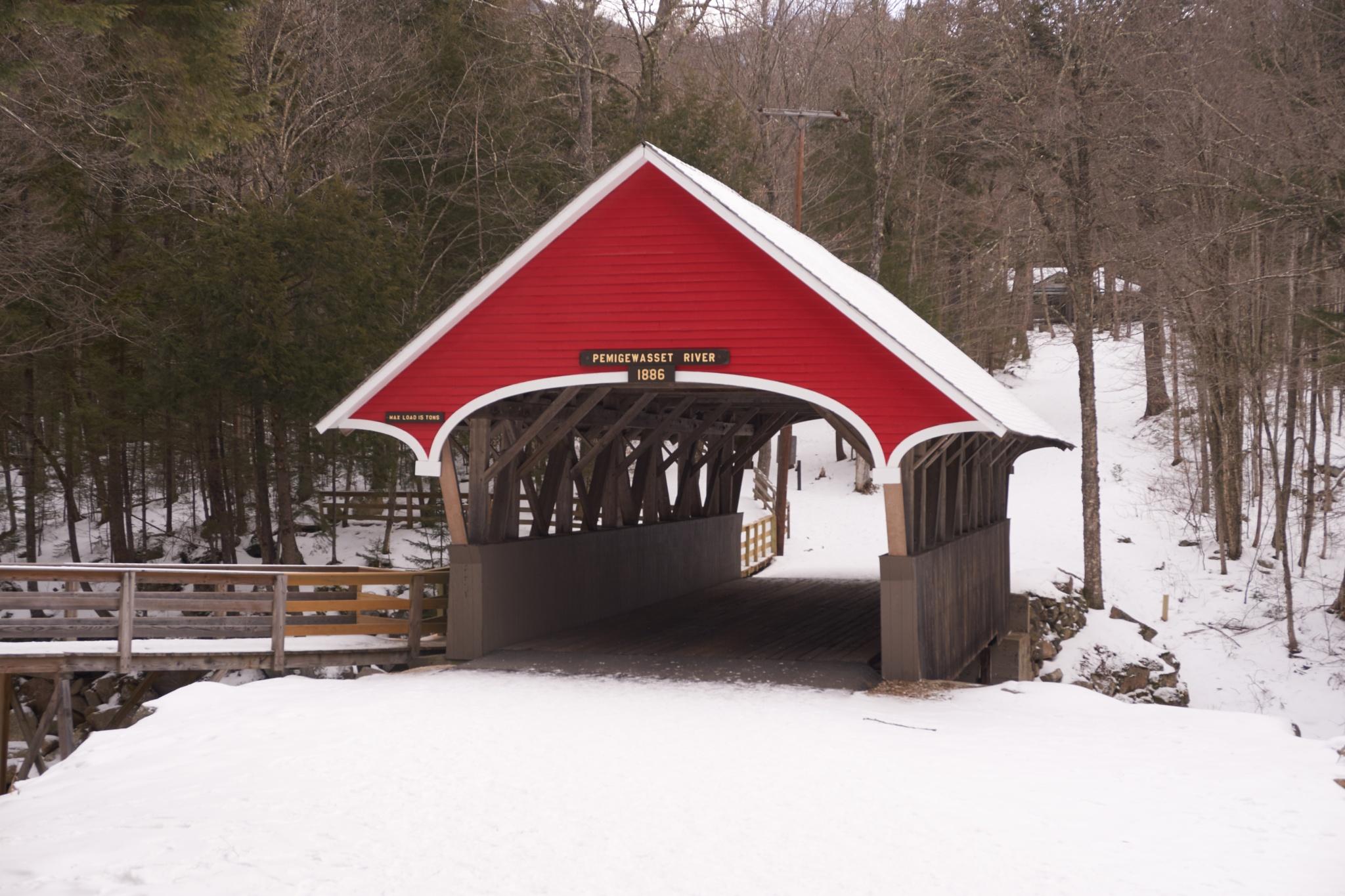 coverd bridge by Jerry Pandolfi