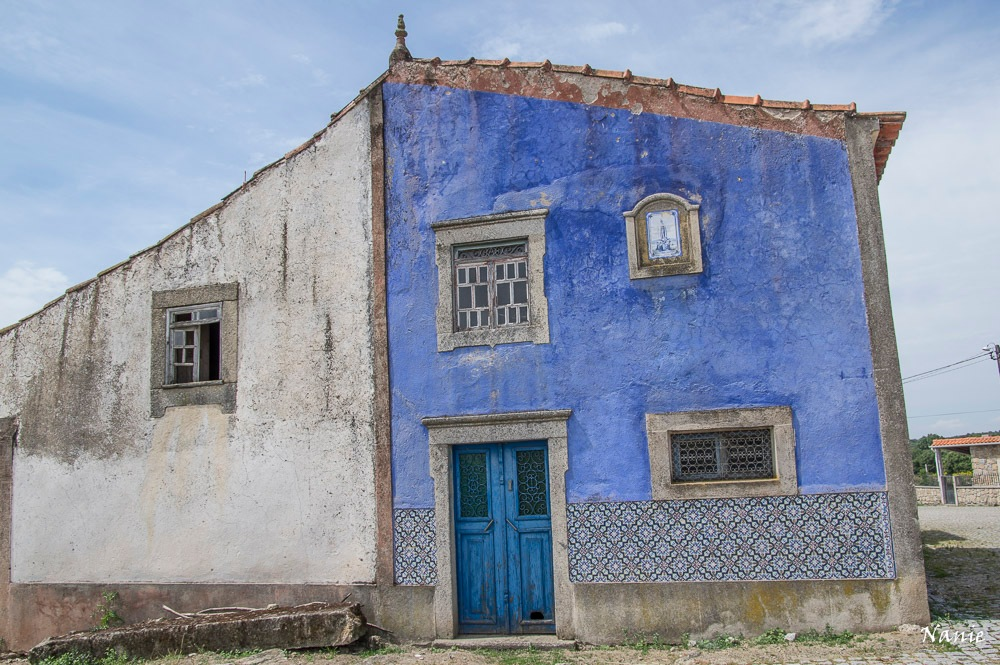 Blue House by Anne-Marie Cottineau