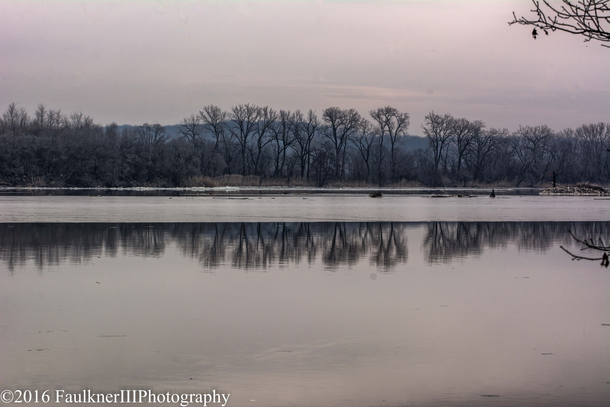 Illinois River by Frederick Faulkner III