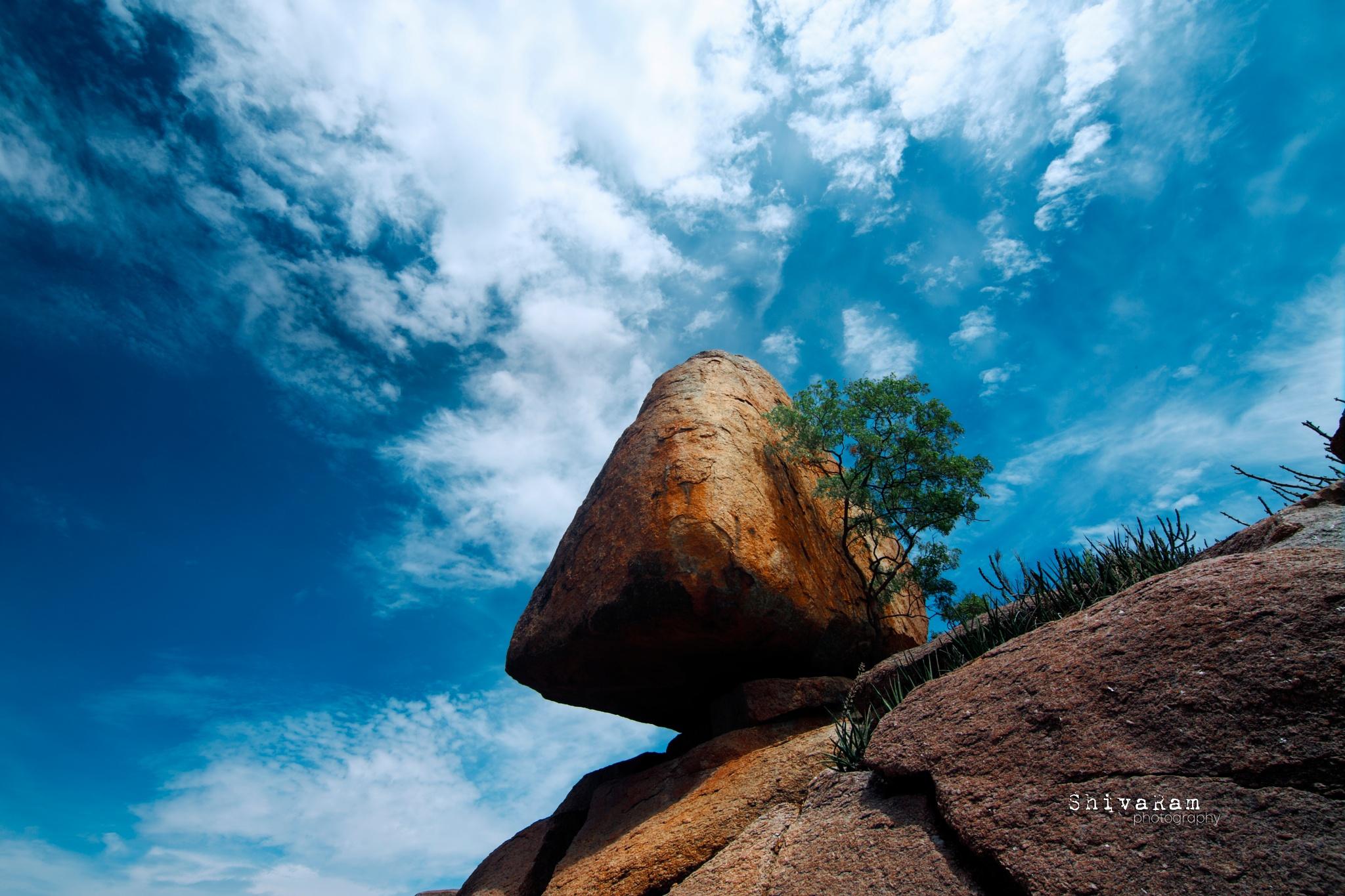 rock by Shiva Ram