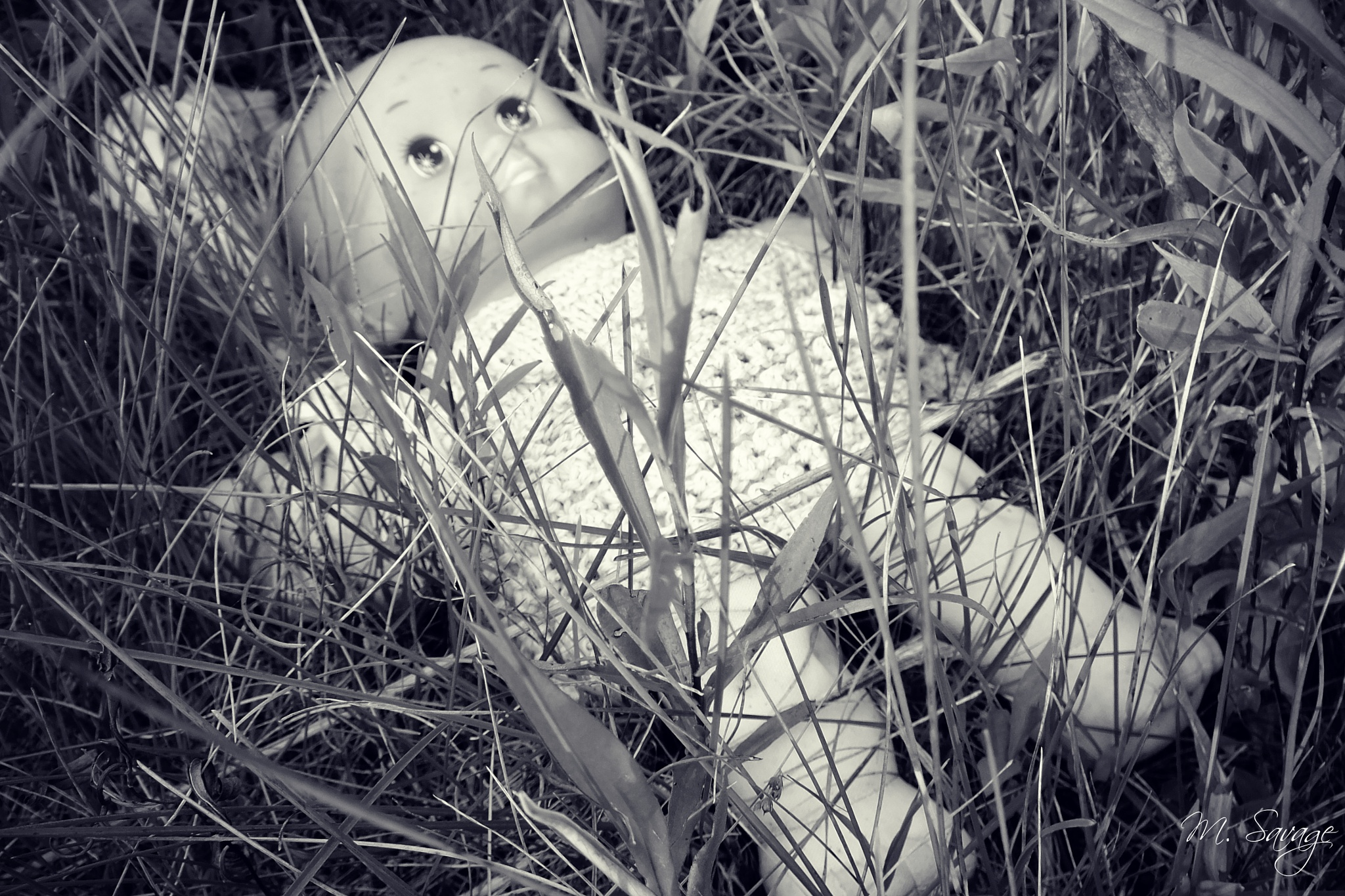 Creepy Doll by Michelle Christensen-Savage