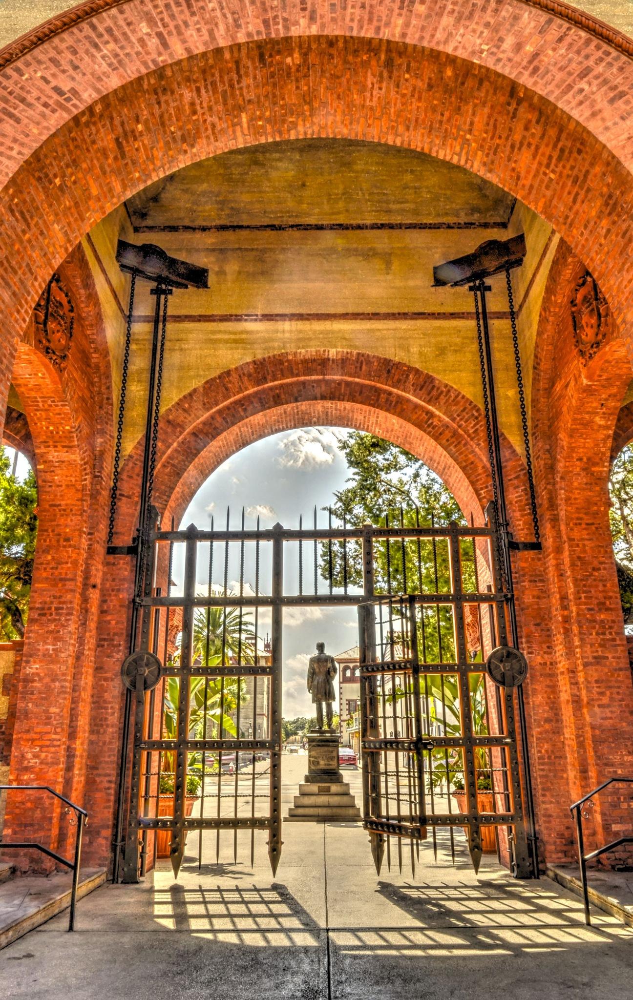 Flagler College Entrance, Saint Agustine, Florida by JoseGarrucho