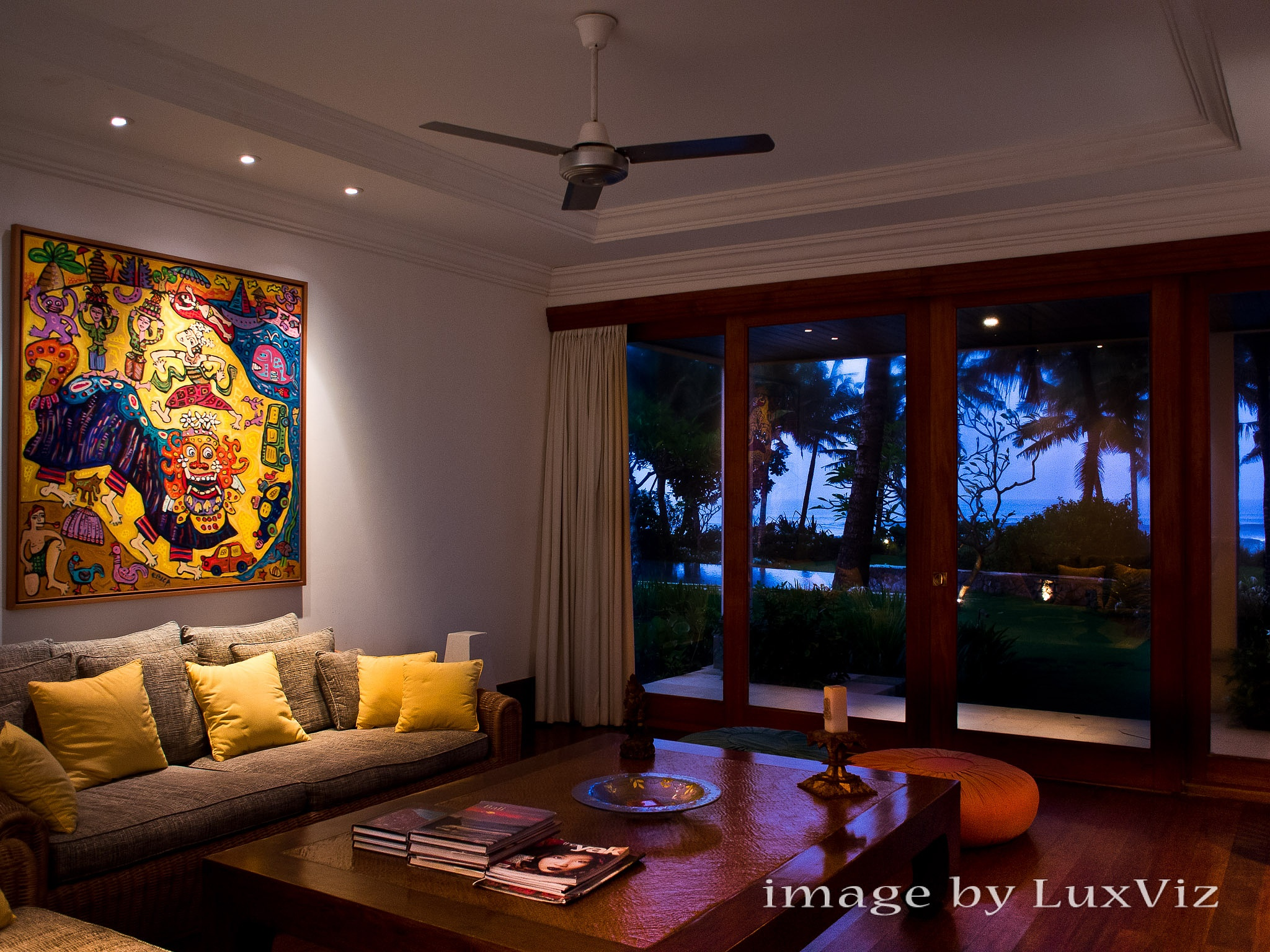 Bali Luxury Villa Photography - Villa Arika by Rick Carmichael
