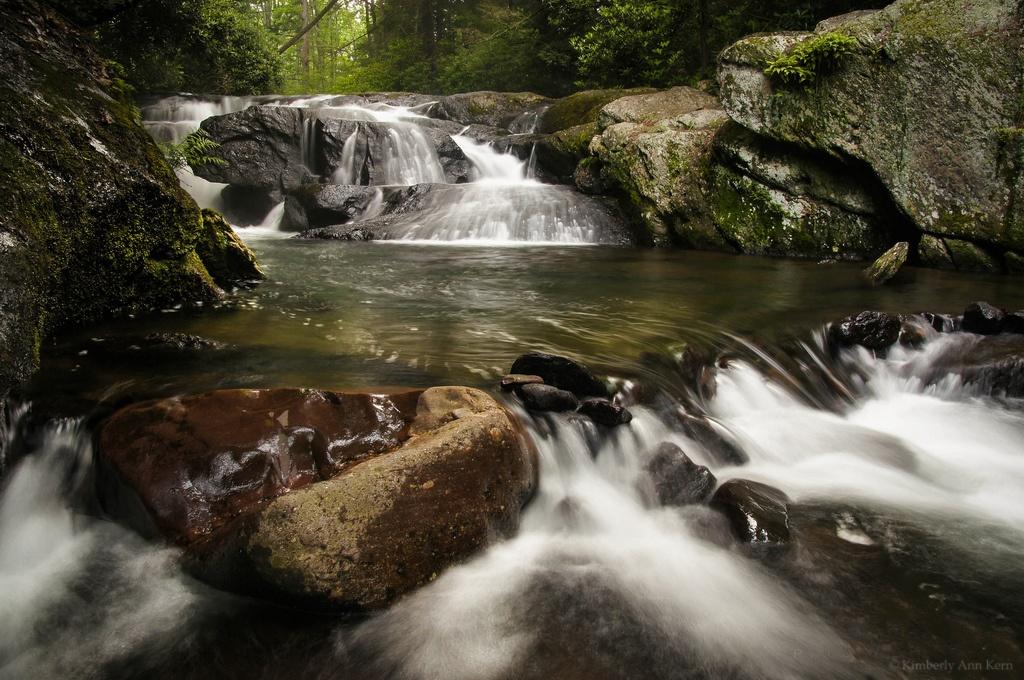 Photo in Landscape #stream #waterfall #water #longexposure