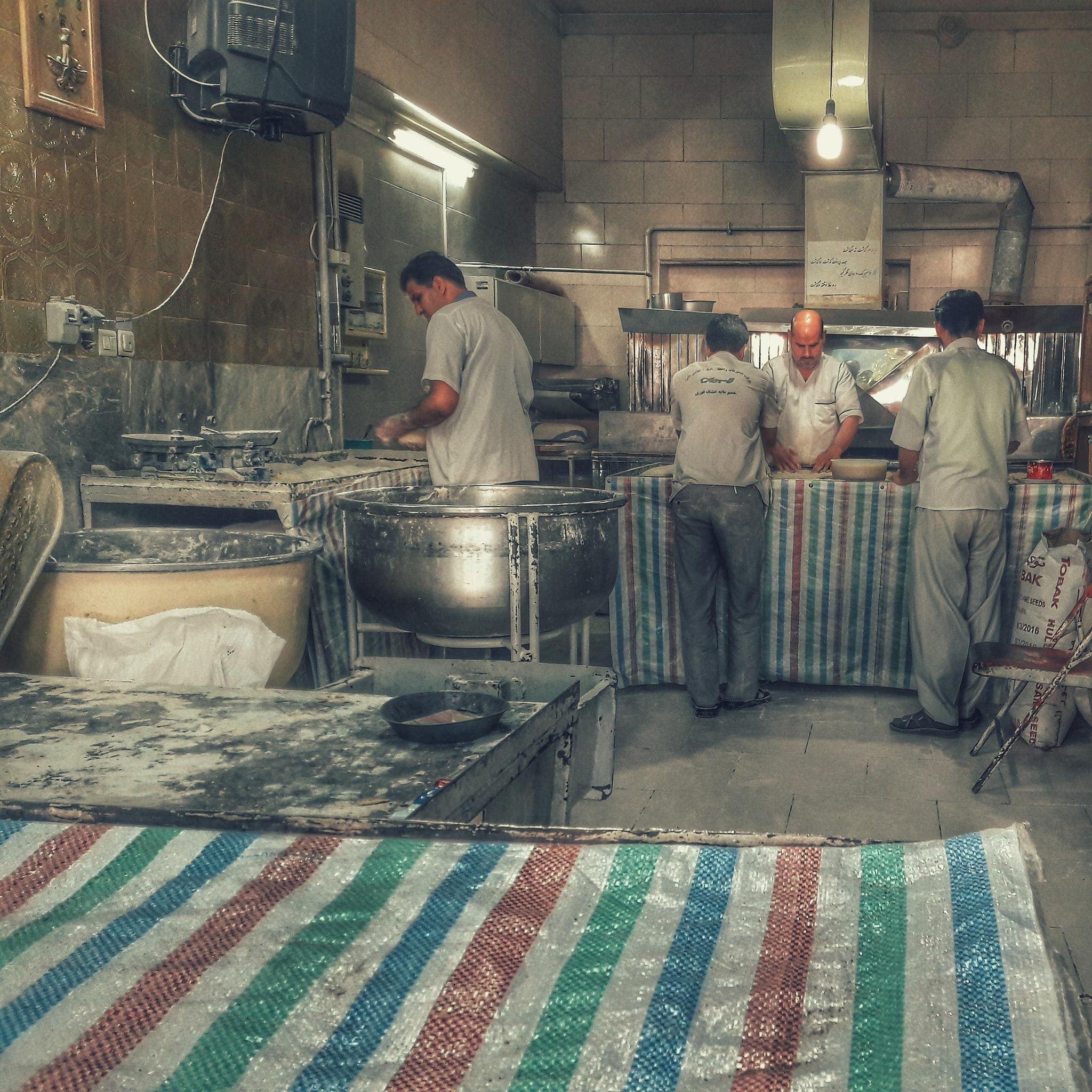 The bakery by Alireza Ahmadi Panah