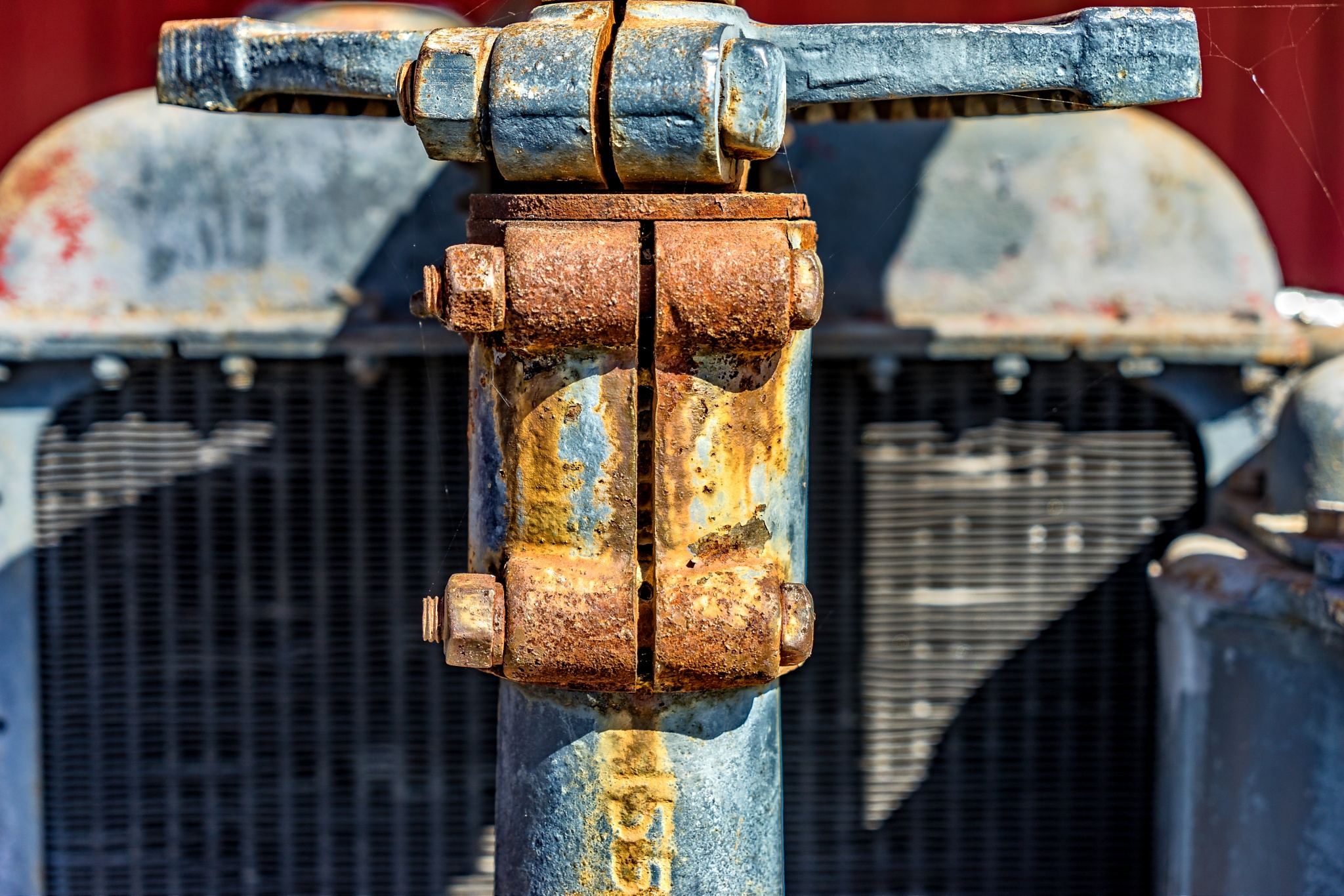 Radiator Rust by Gary Posner