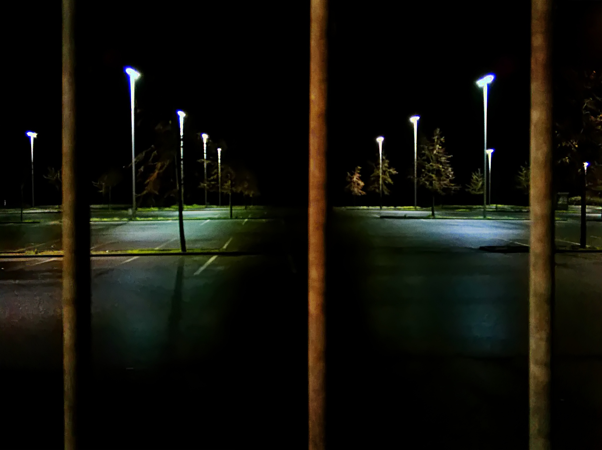 Photo in Urban #street #streetphotography #cityscape #parking #night #light