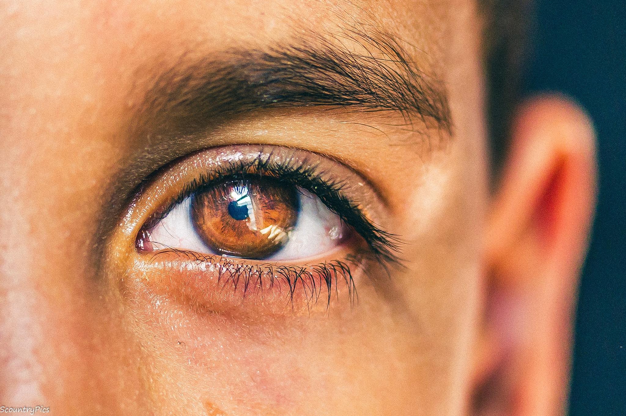 through the eye  by Scountry Salim