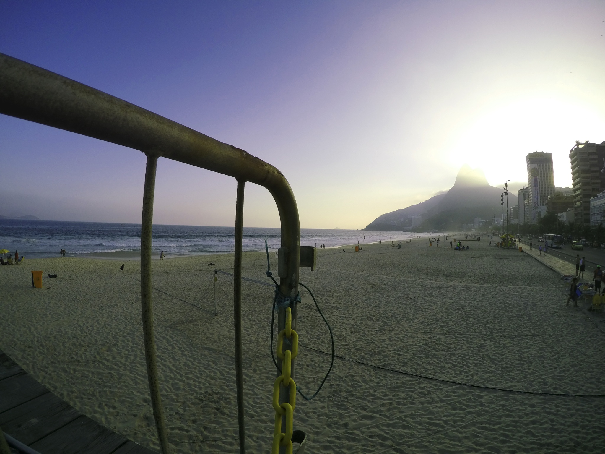 Ipanema beach by Marcelo Zal Riani