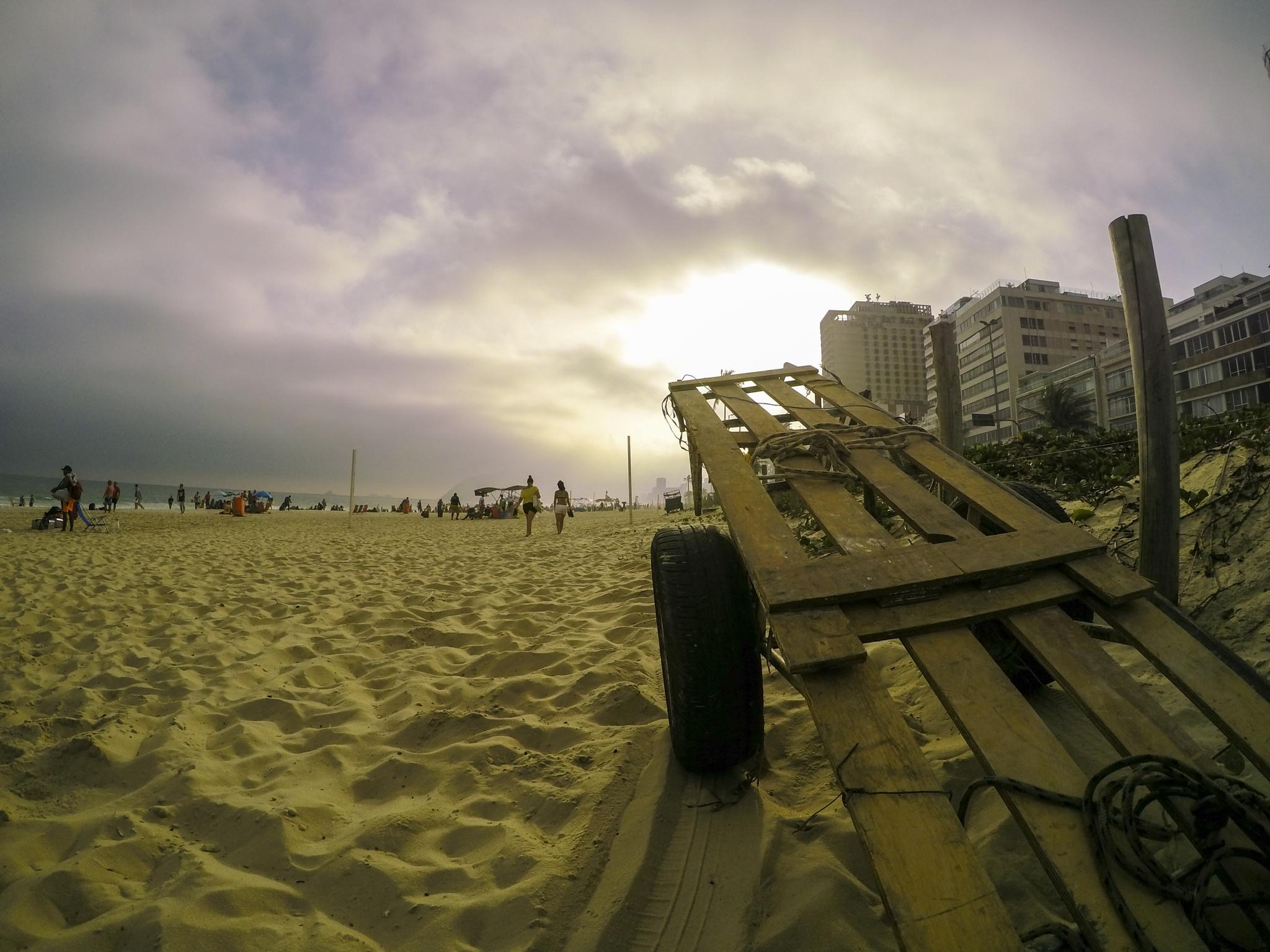Ipanema beach by Marcelo Zal Riani