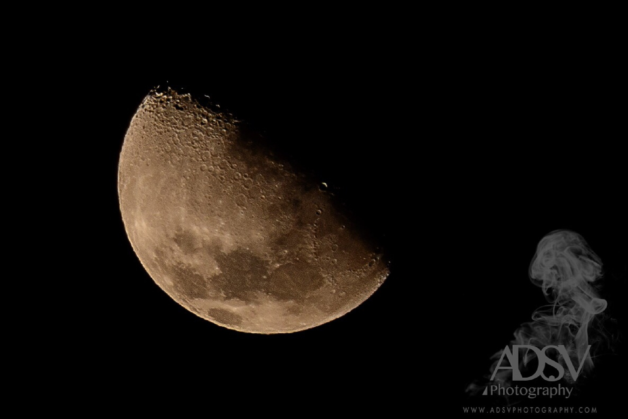 Moon by ADSV Photography