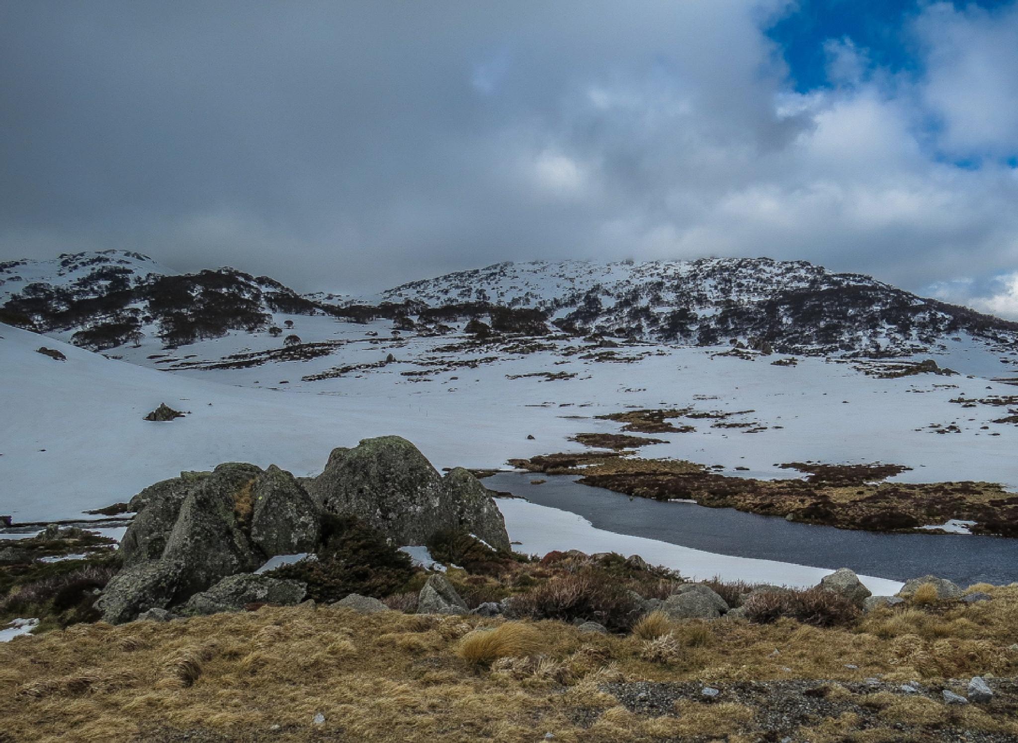 Snow melts & creeks flow again  by Jan Taylor