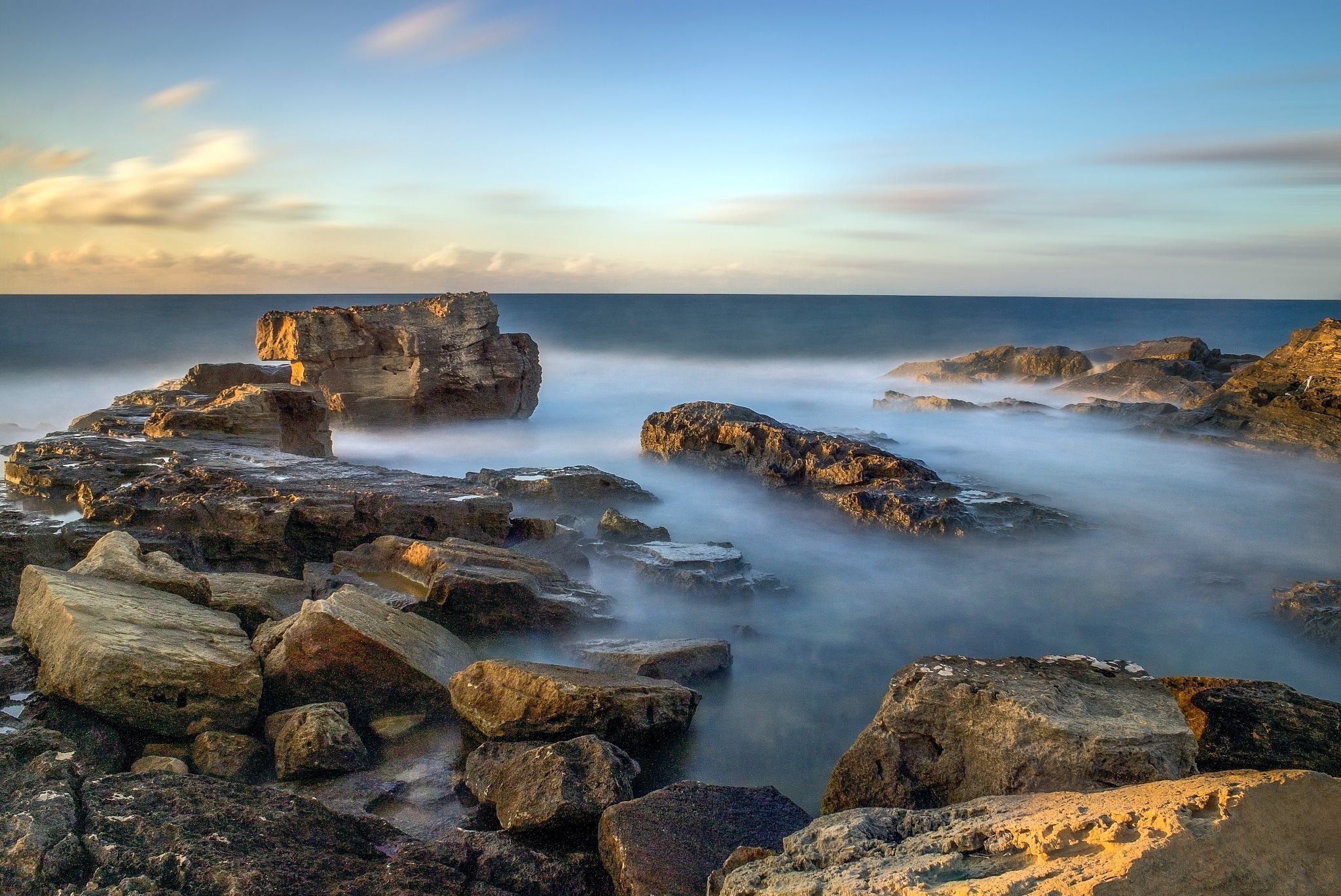 HDR Seascape. by Omar AL-NAAS