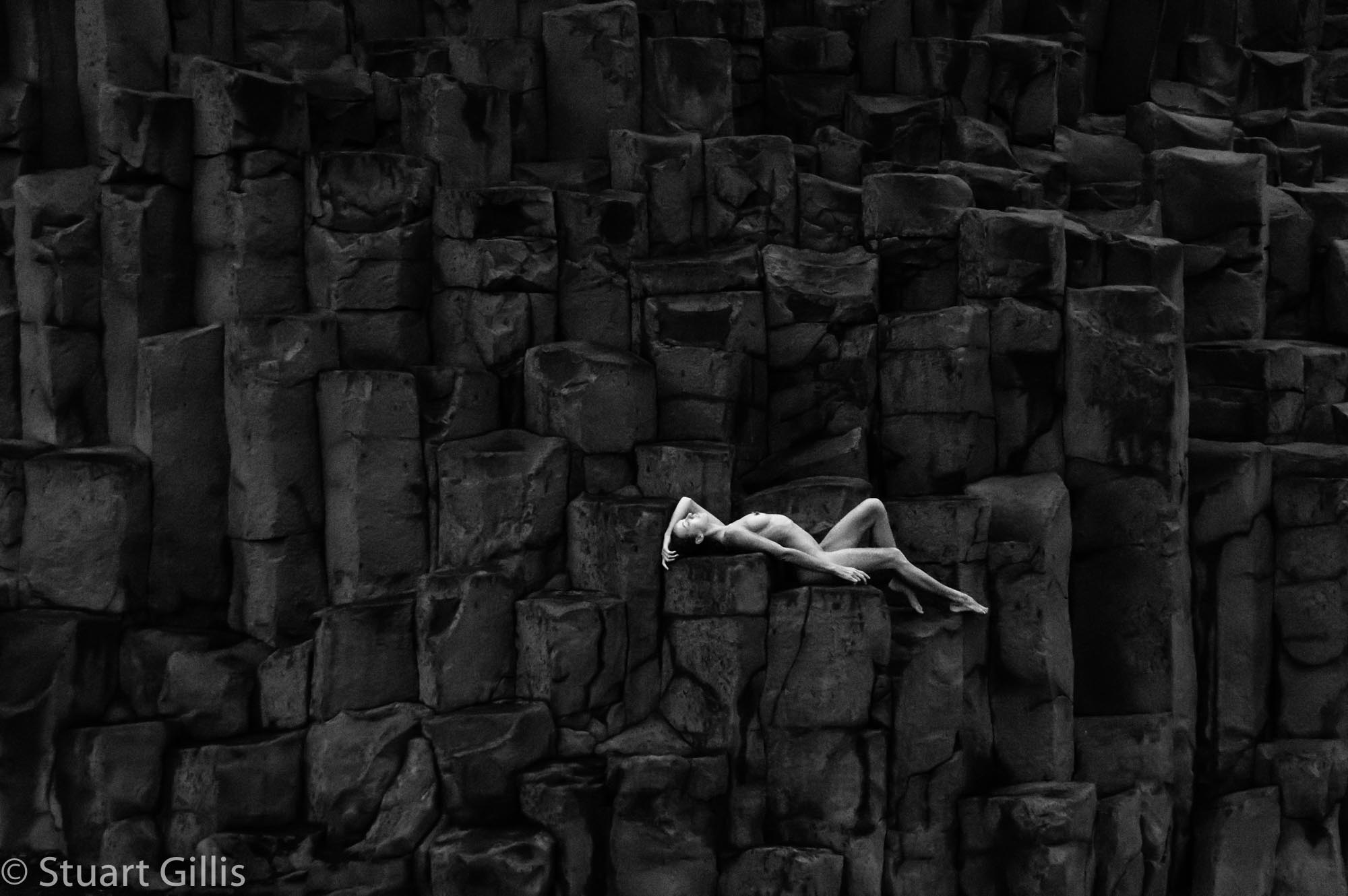 On the rocks by Stuart Gillis
