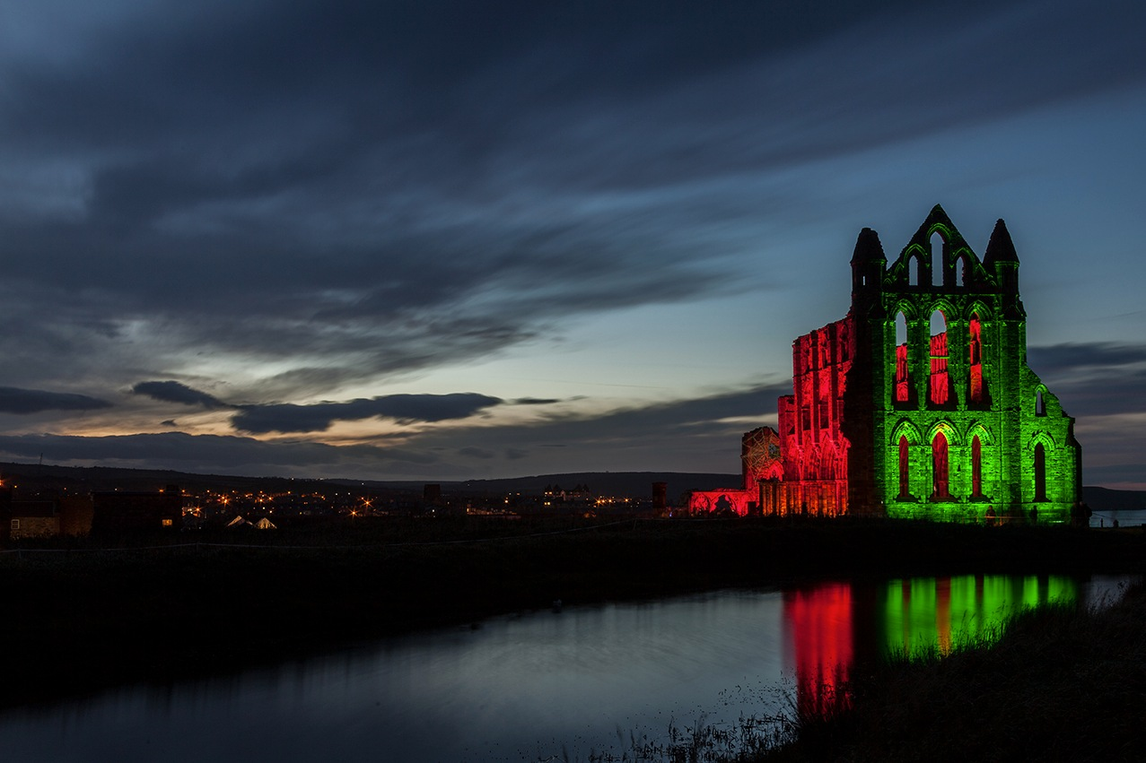 Whitby Abbey by MartinFugePhotography