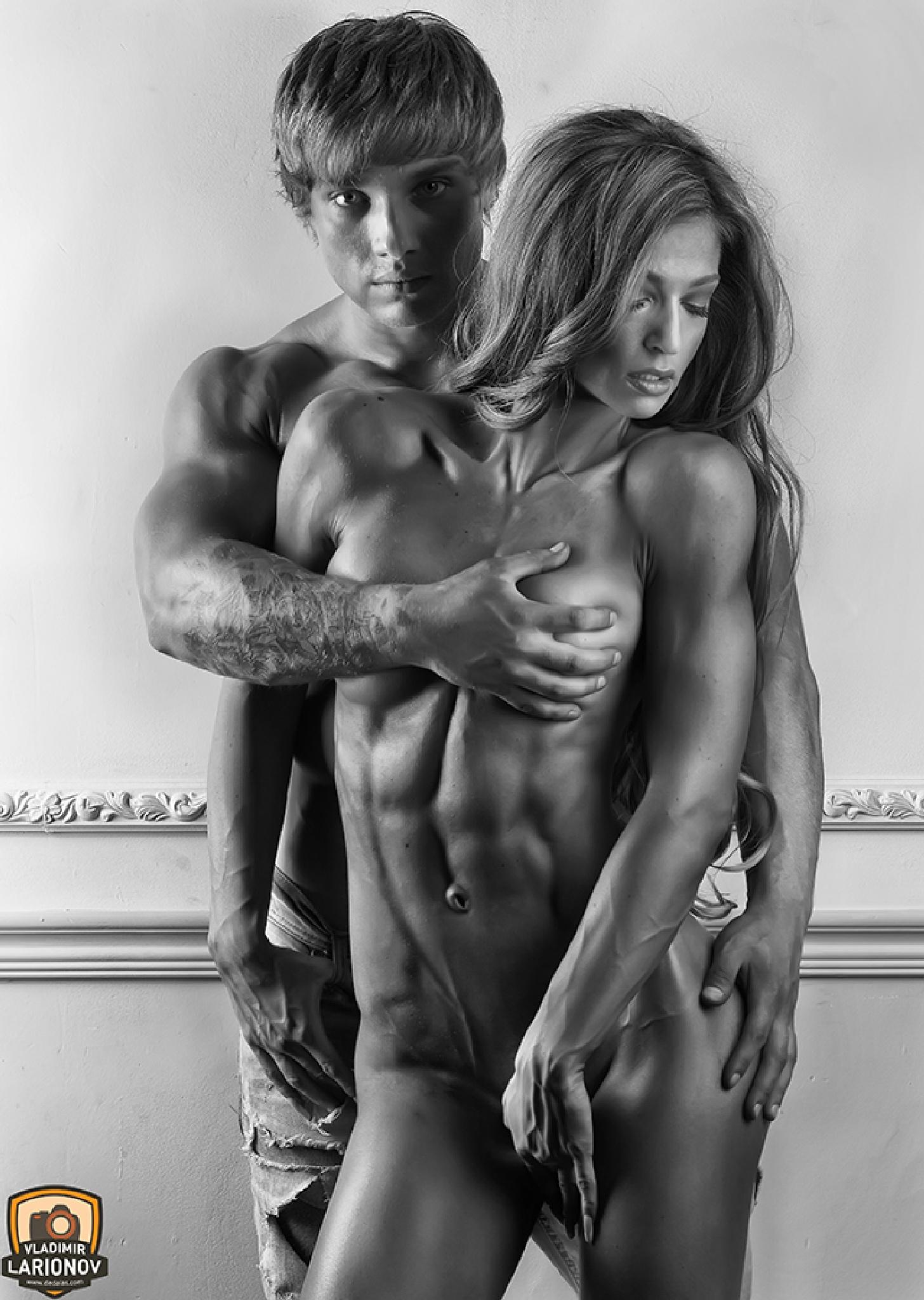 Athletes by Vladimir Larionov