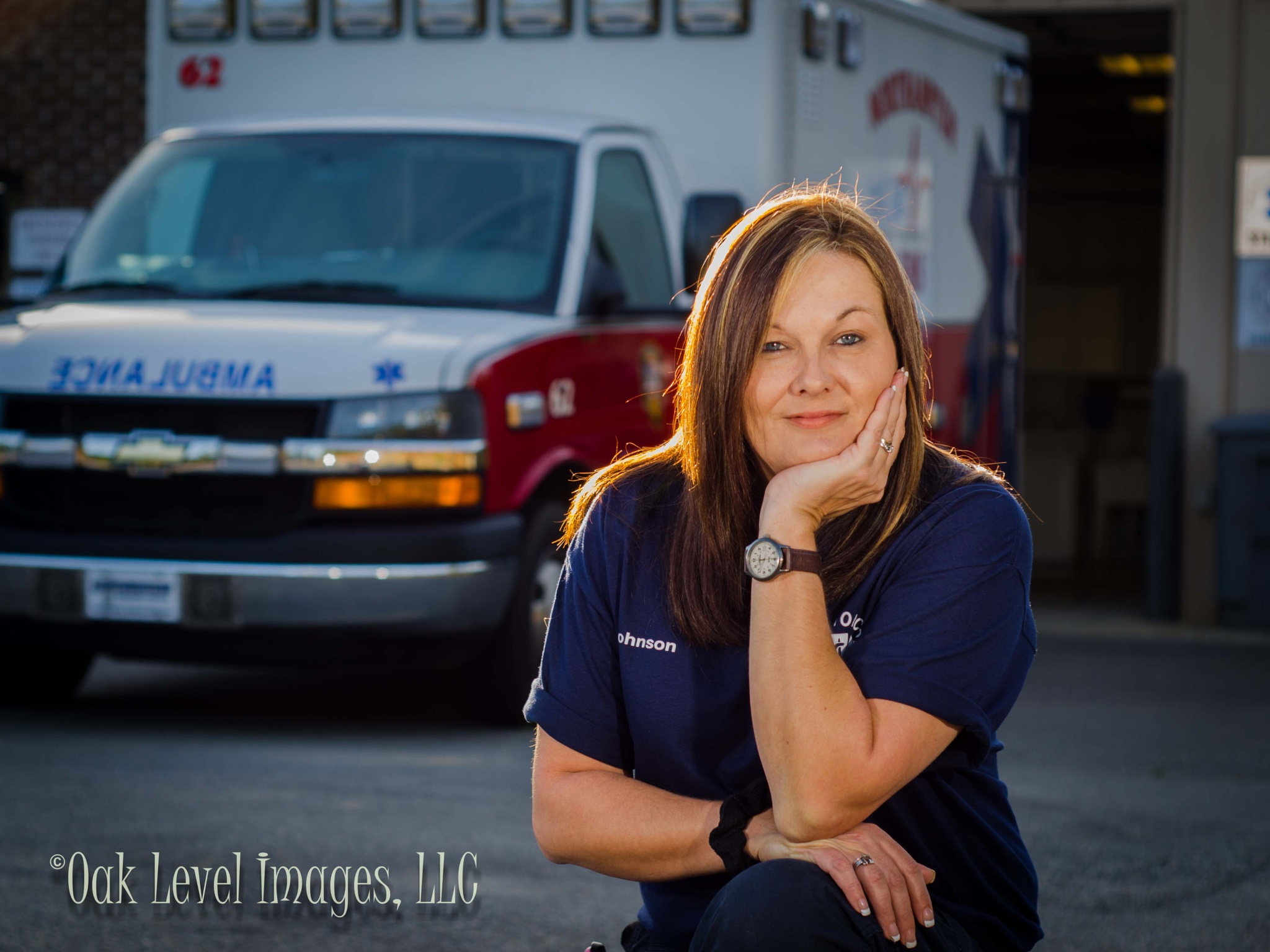 Life saving woman by oaklevelimages