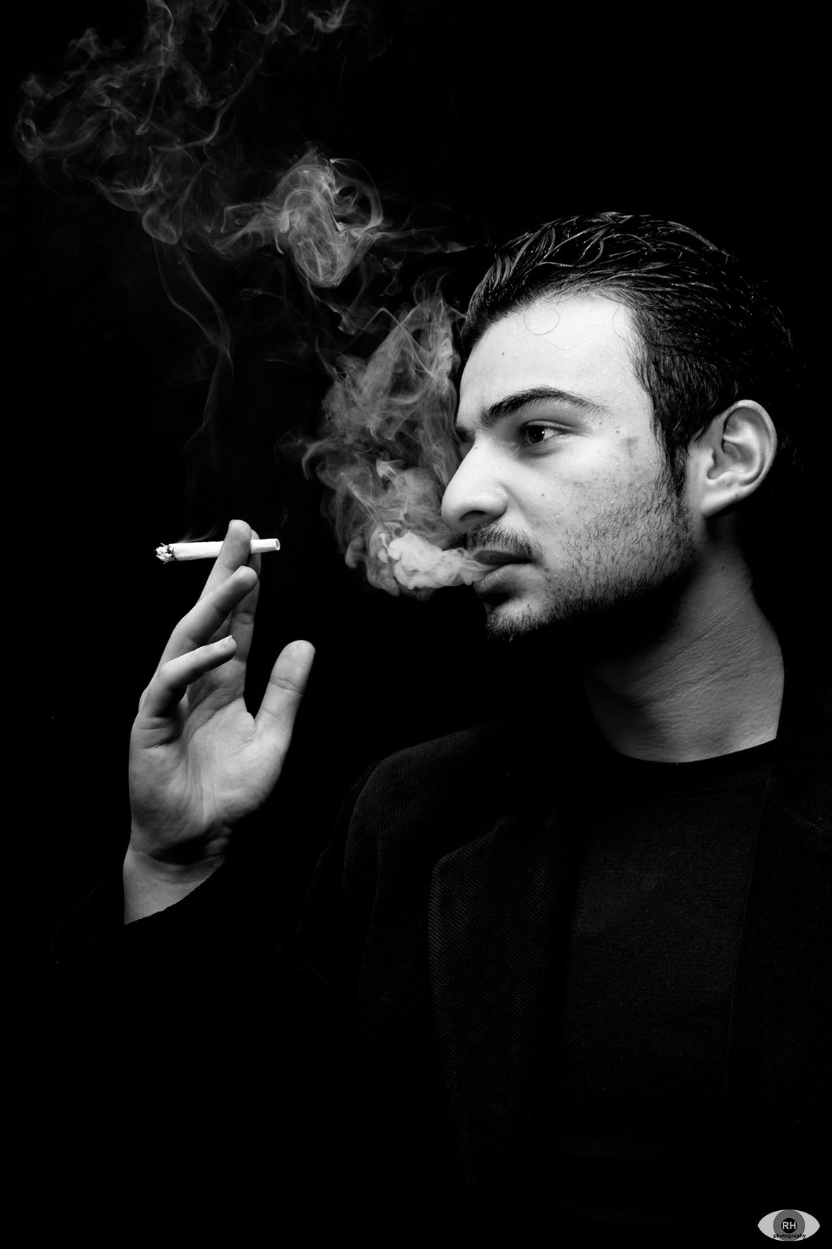Smoking man by ⭐ rhphotography