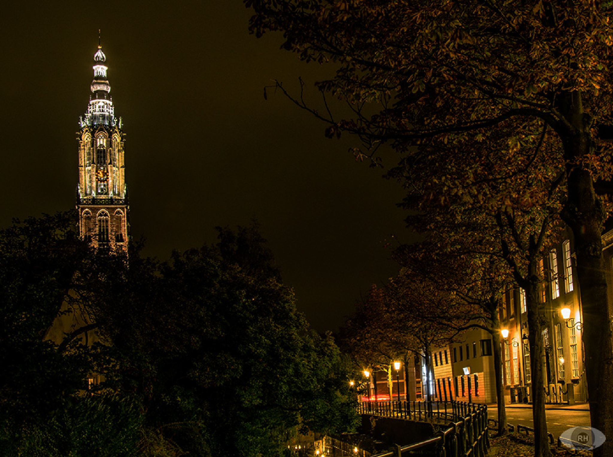 """""""Onze Lieve Vrouwetoren"""" by night (Amersfoort, The Netherlands) by ⭐ rhphotography"""