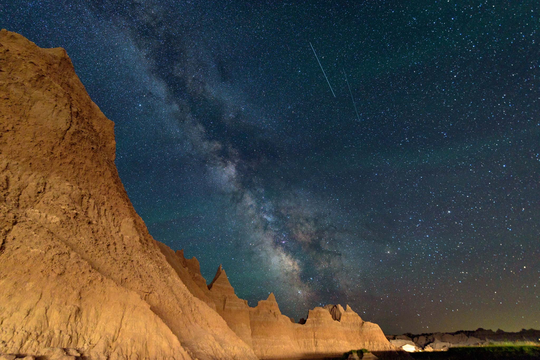 Badlands Milky Way by Tom Lambui