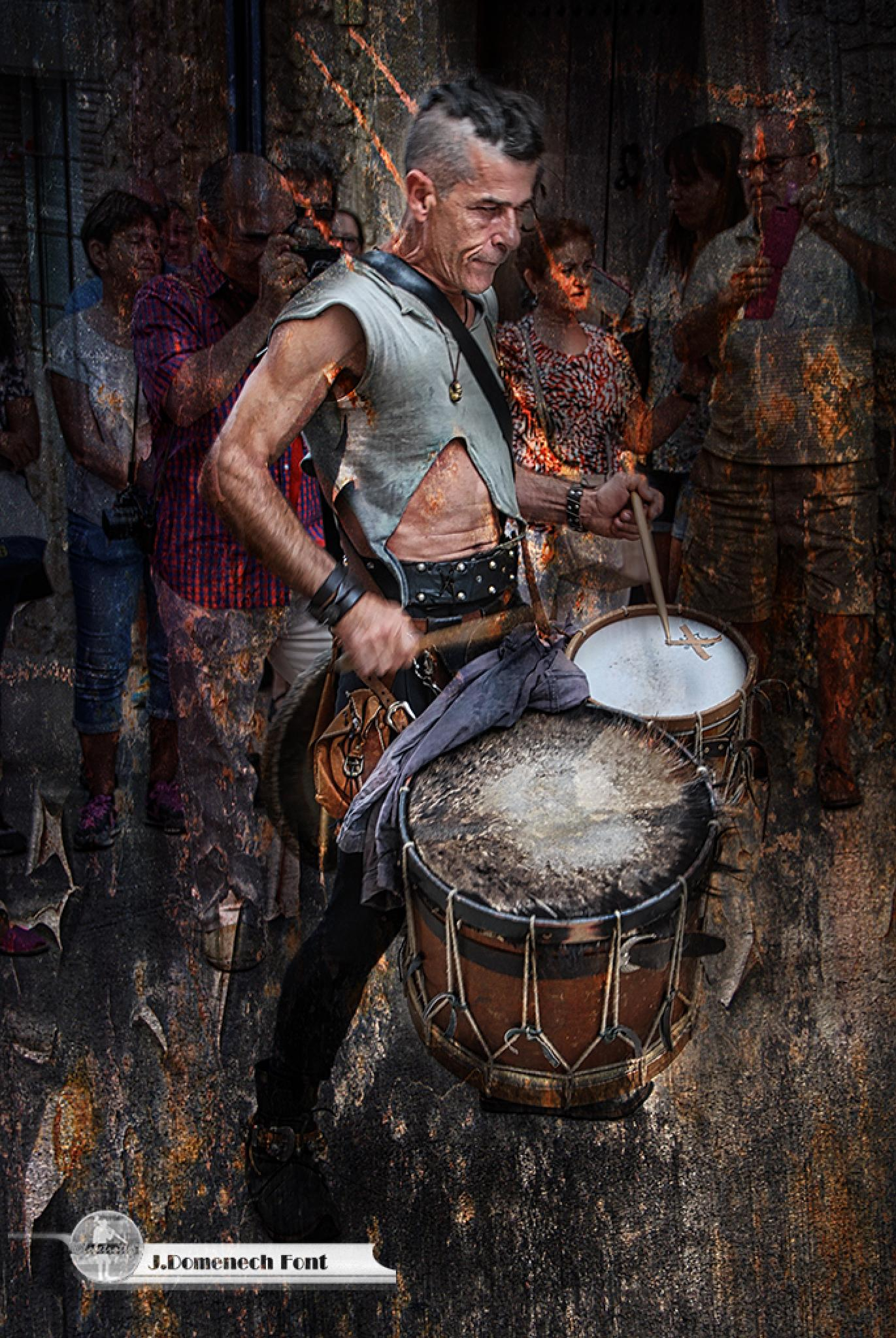 The drumming by jesusdomenechfont9