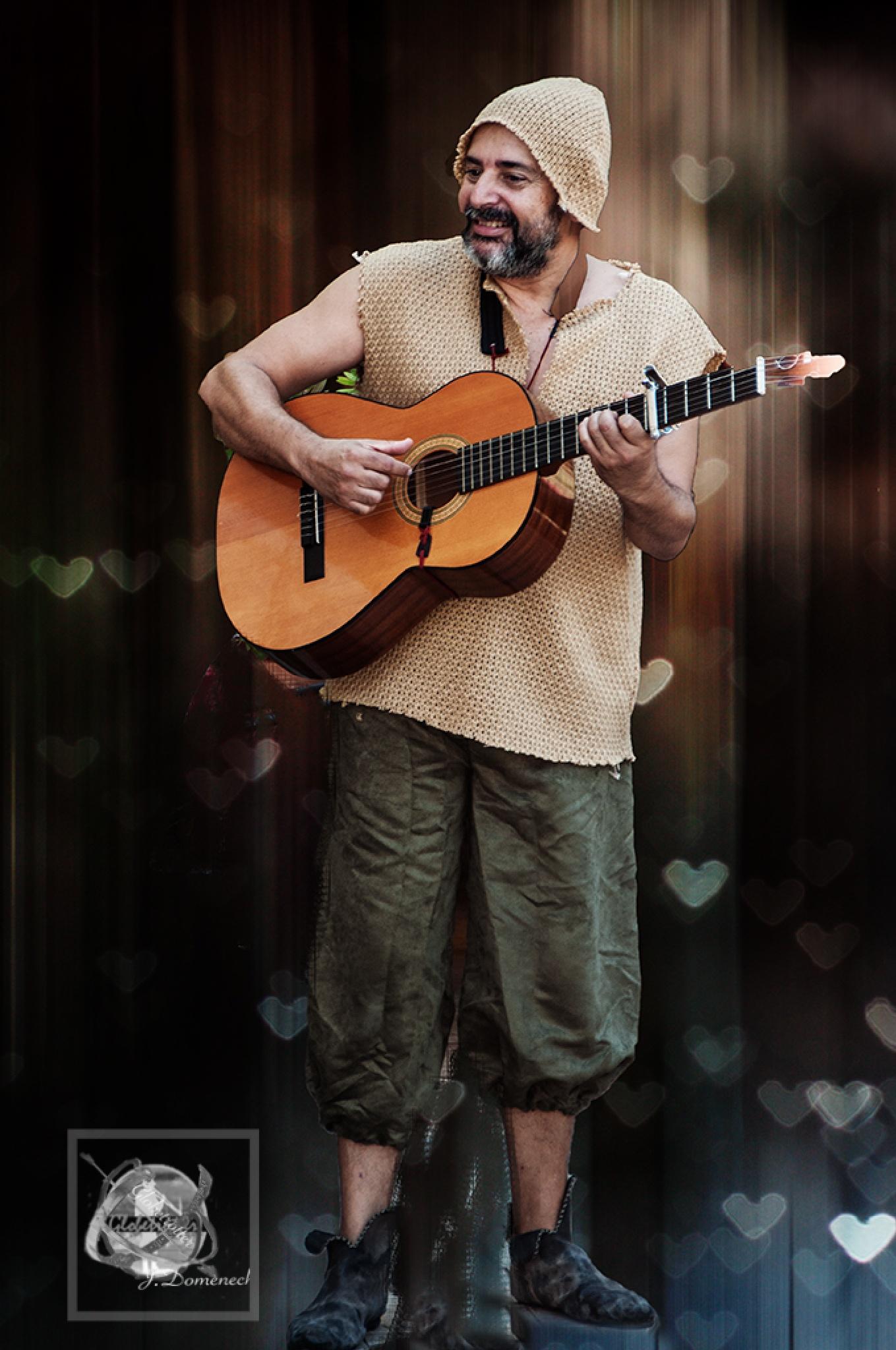 El trovador de cançons d'amor by jesusdomenechfont9