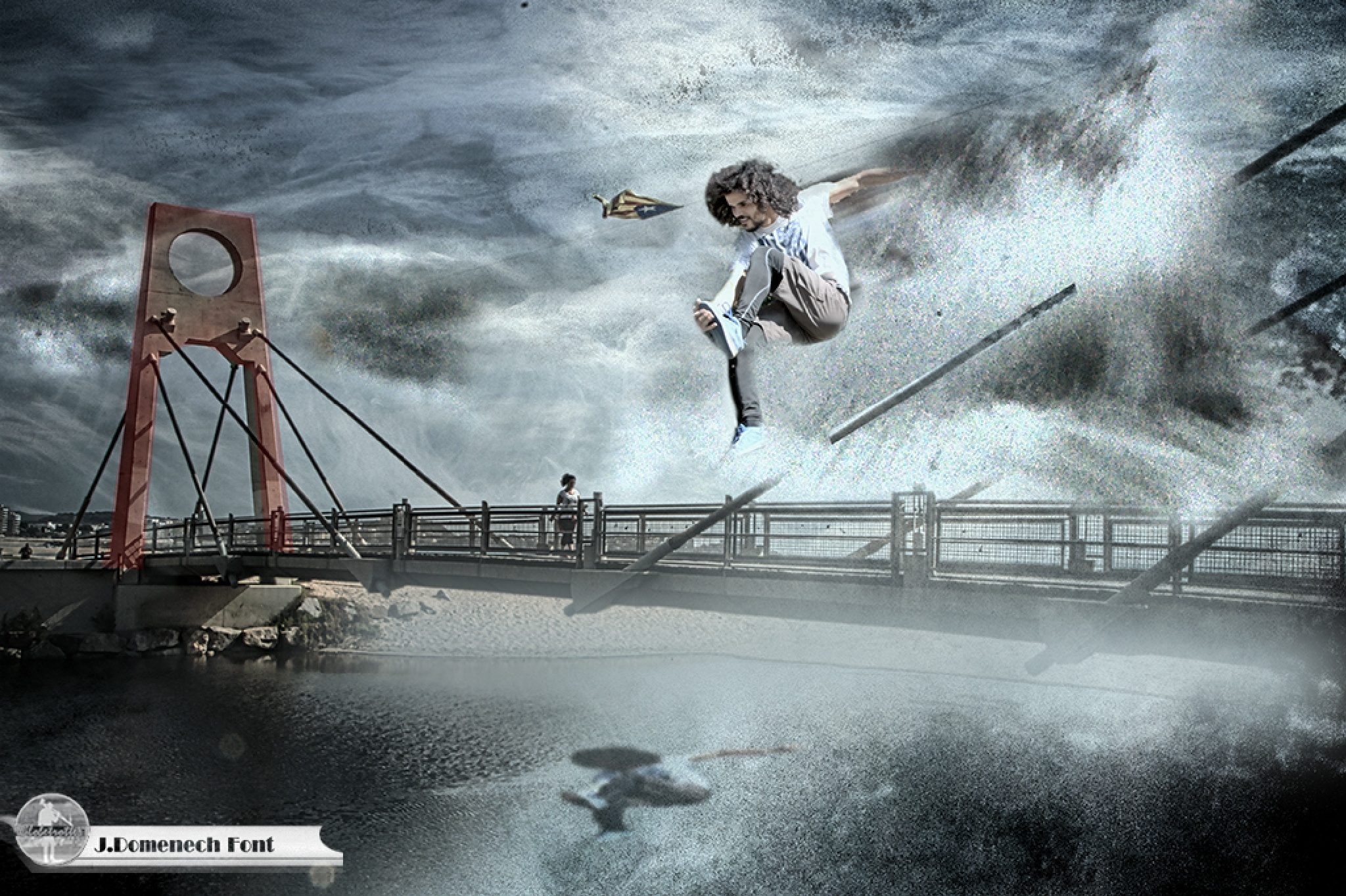 El santo desde el puente by jesusdomenechfont9