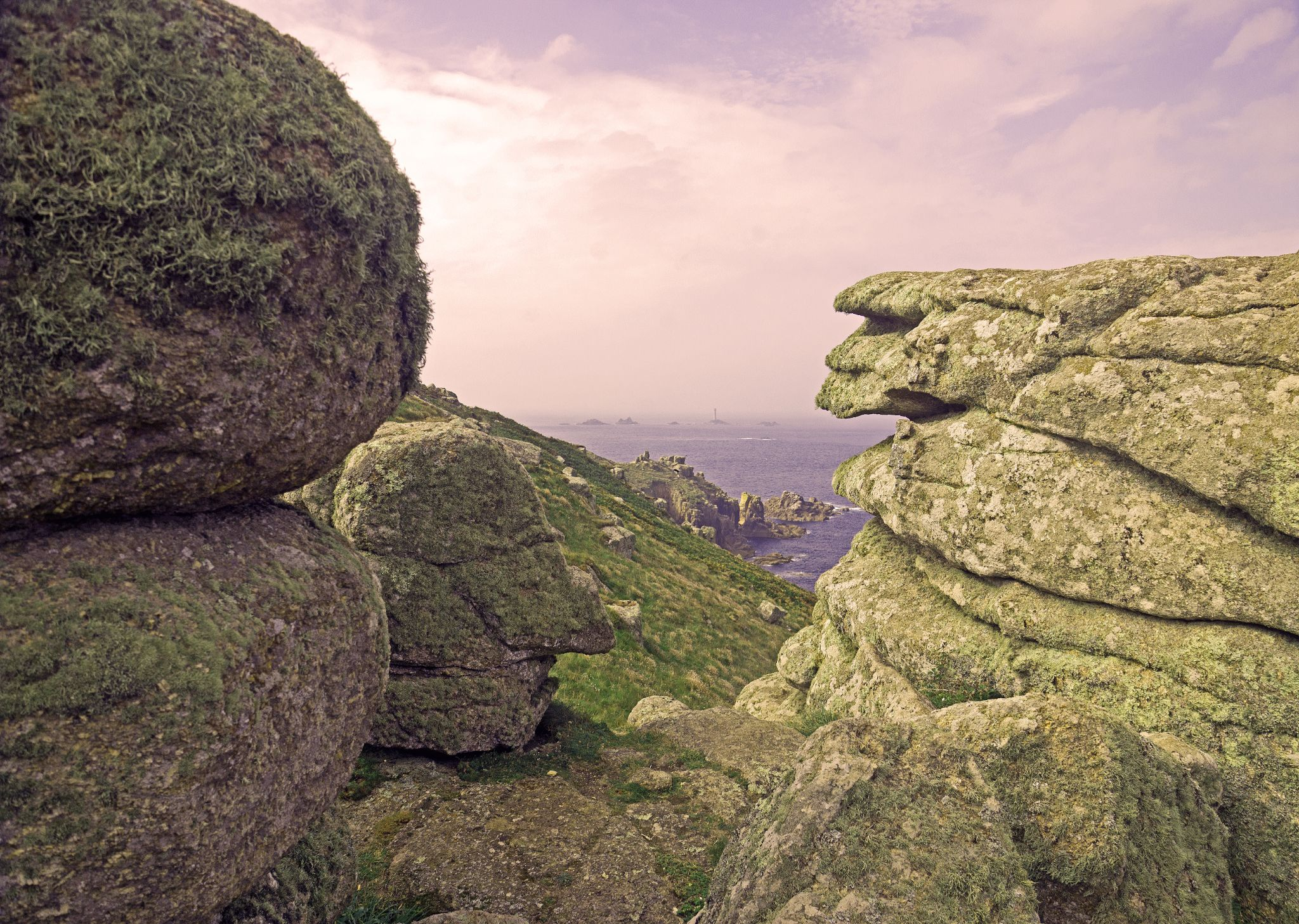 Lands End Views Cornwall by alunhughes1971