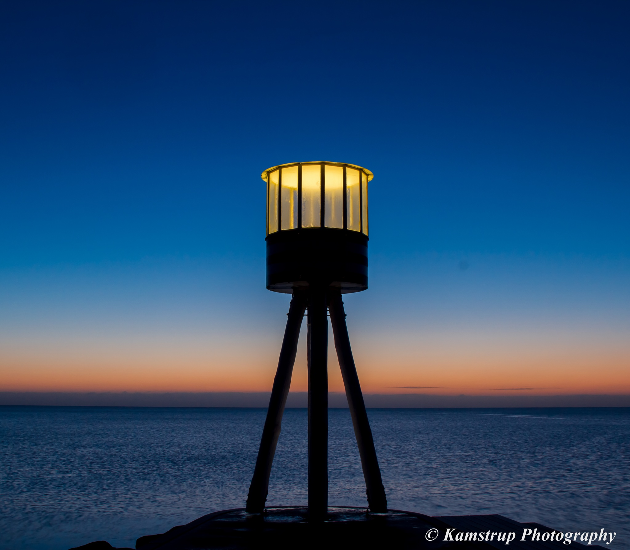 Morning tower by Ole Kamstrup Jakobsen