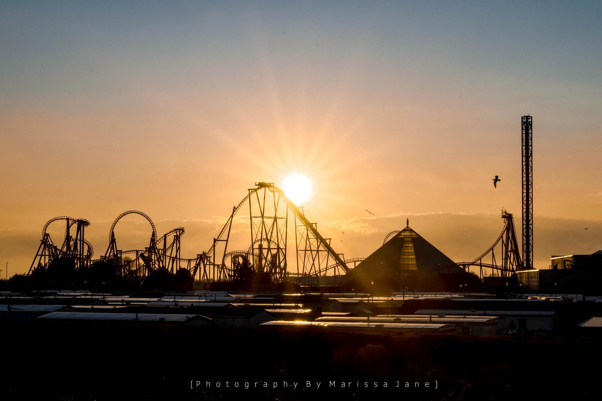 Sunset on Fantasy Island  by MarissaJane
