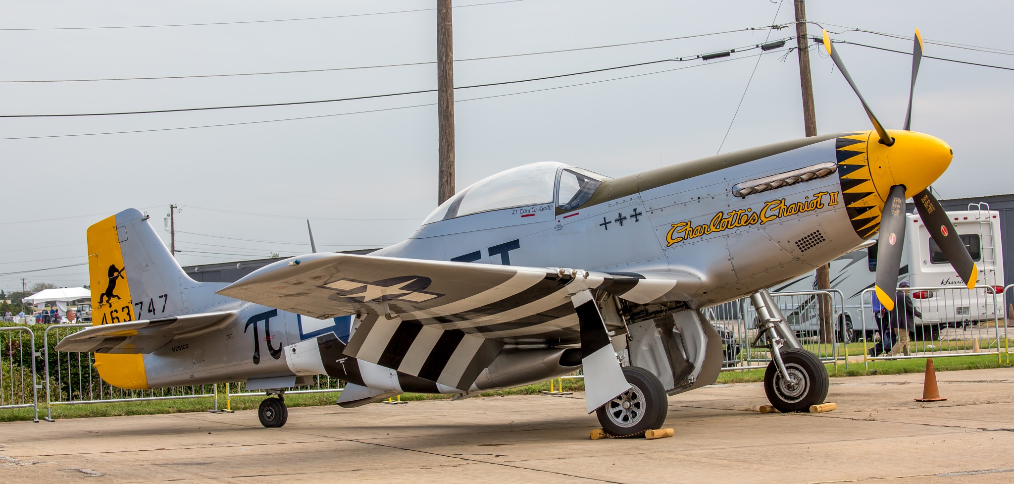 Vintage Fighter Grounded by Robert White