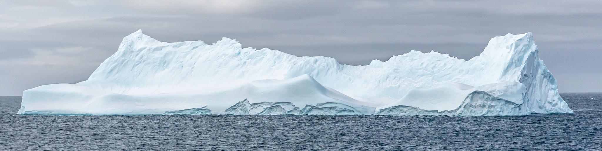 Iceberg, Antarctica by Robert White