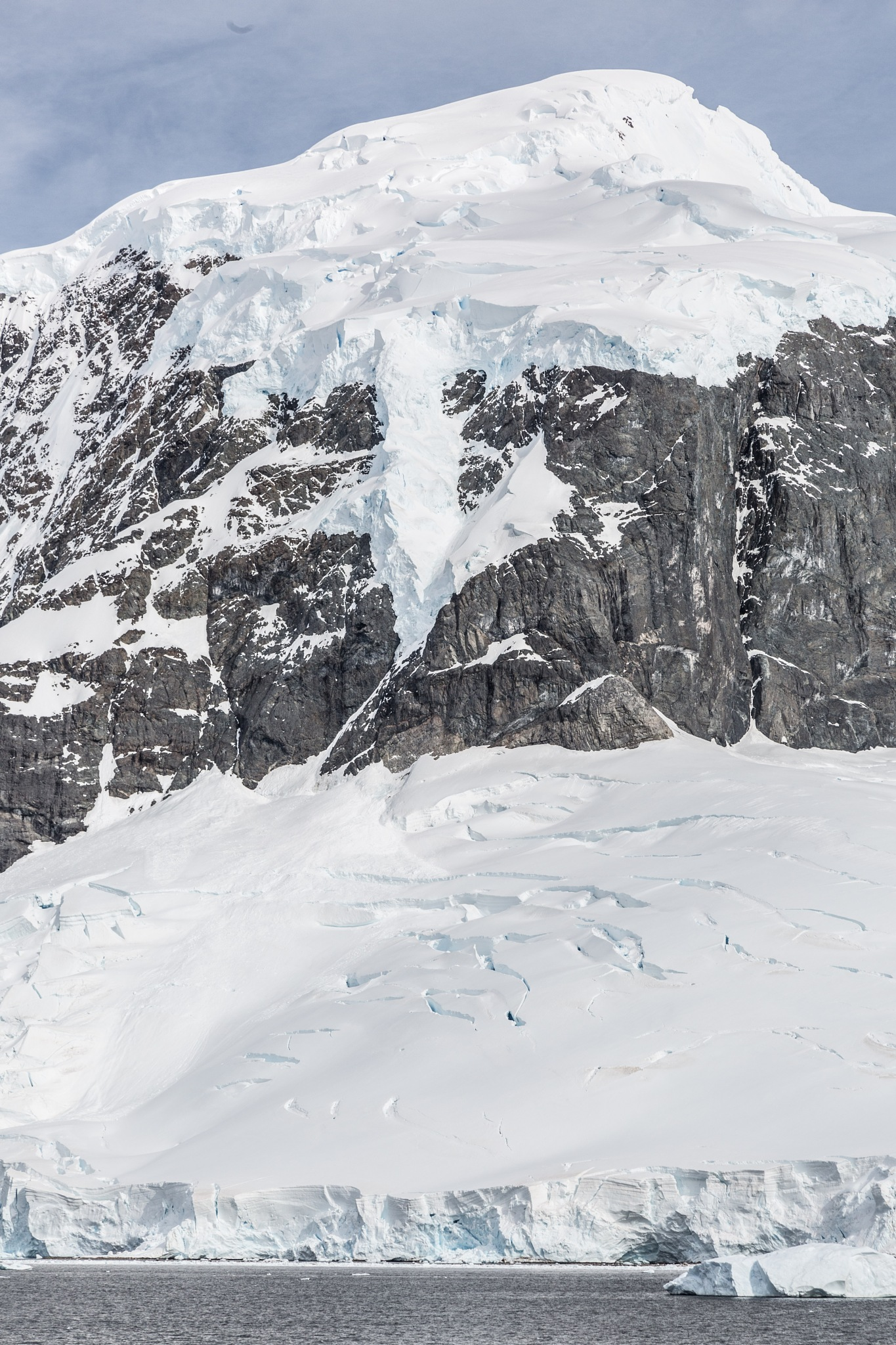 Snow, Ice & Rock by Robert White