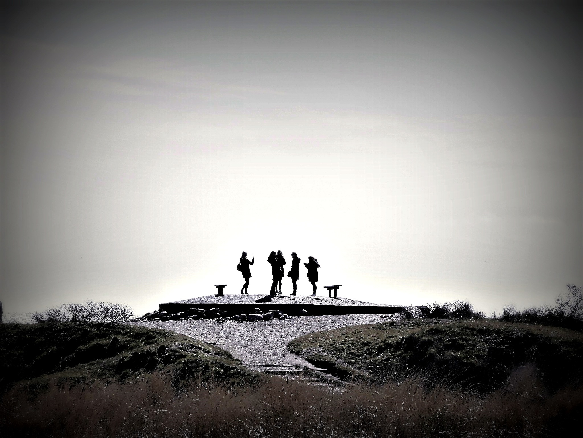 På toppen av Danmark. #grenen#skagen#danmark by Cicki Jarneberg
