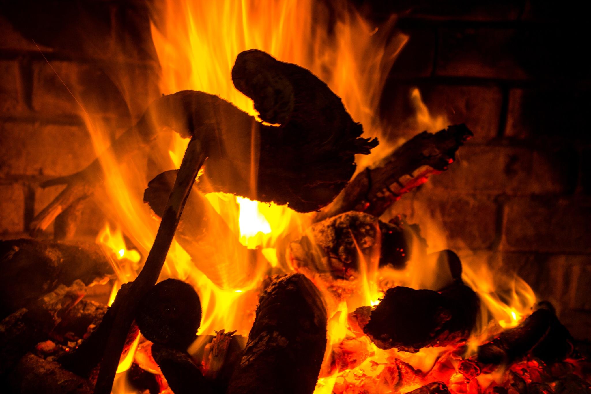 Wood fire by Nauta Piscatorque