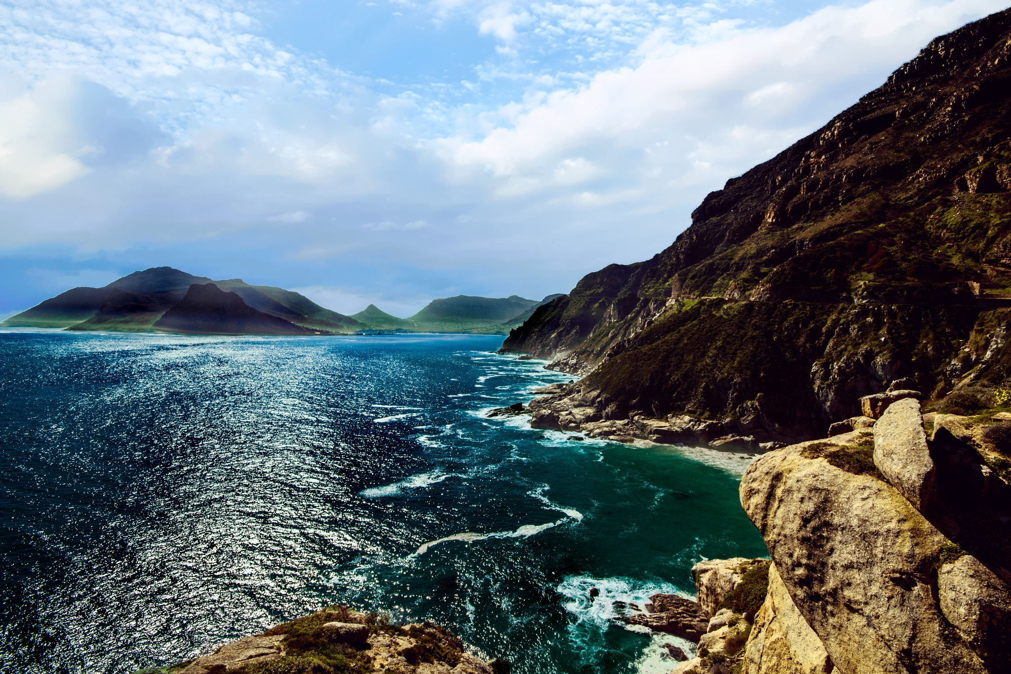 Hout Bay from Chapman's Peak by Nauta Piscatorque