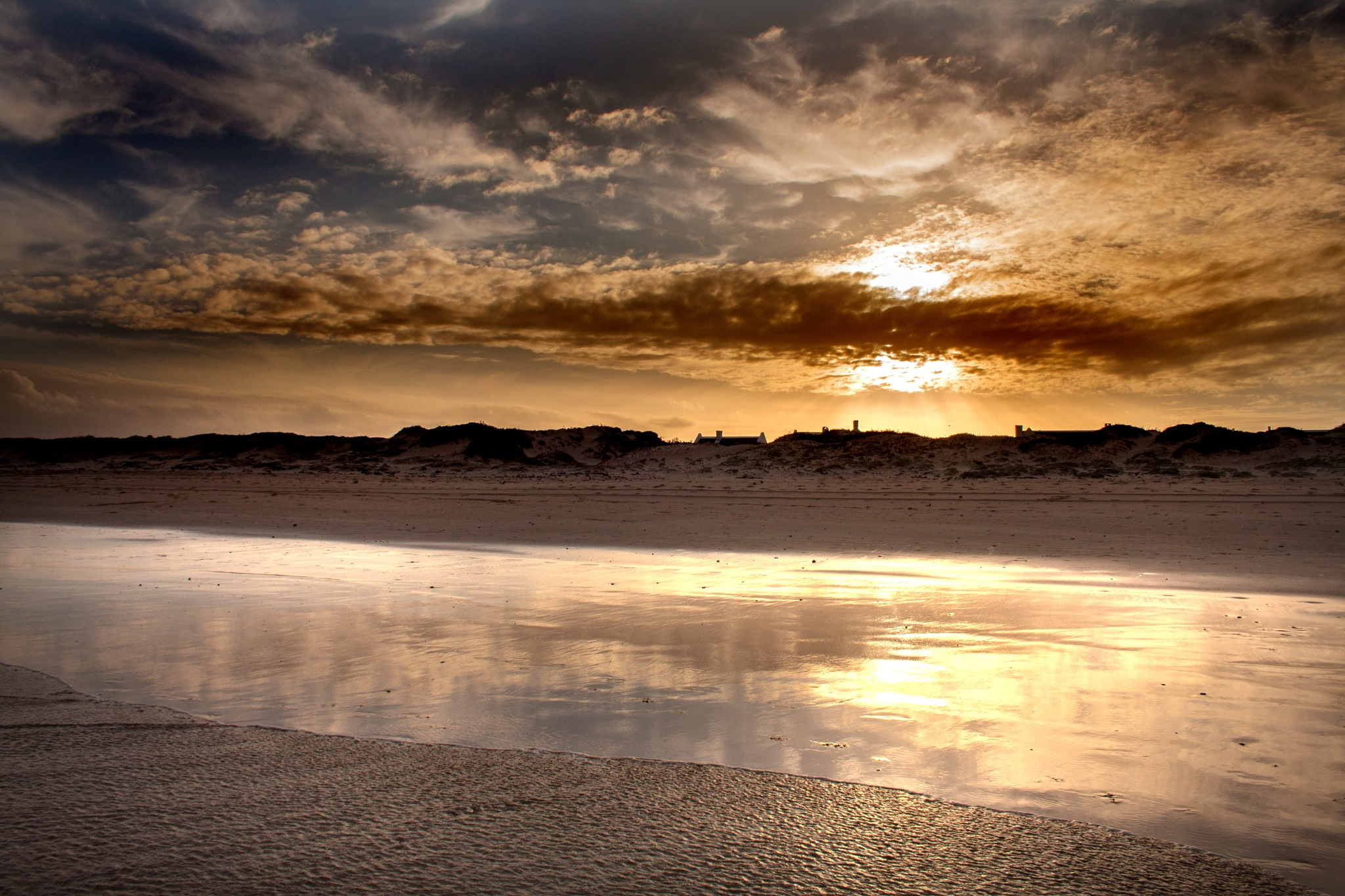 A river on the beach by Nauta Piscatorque