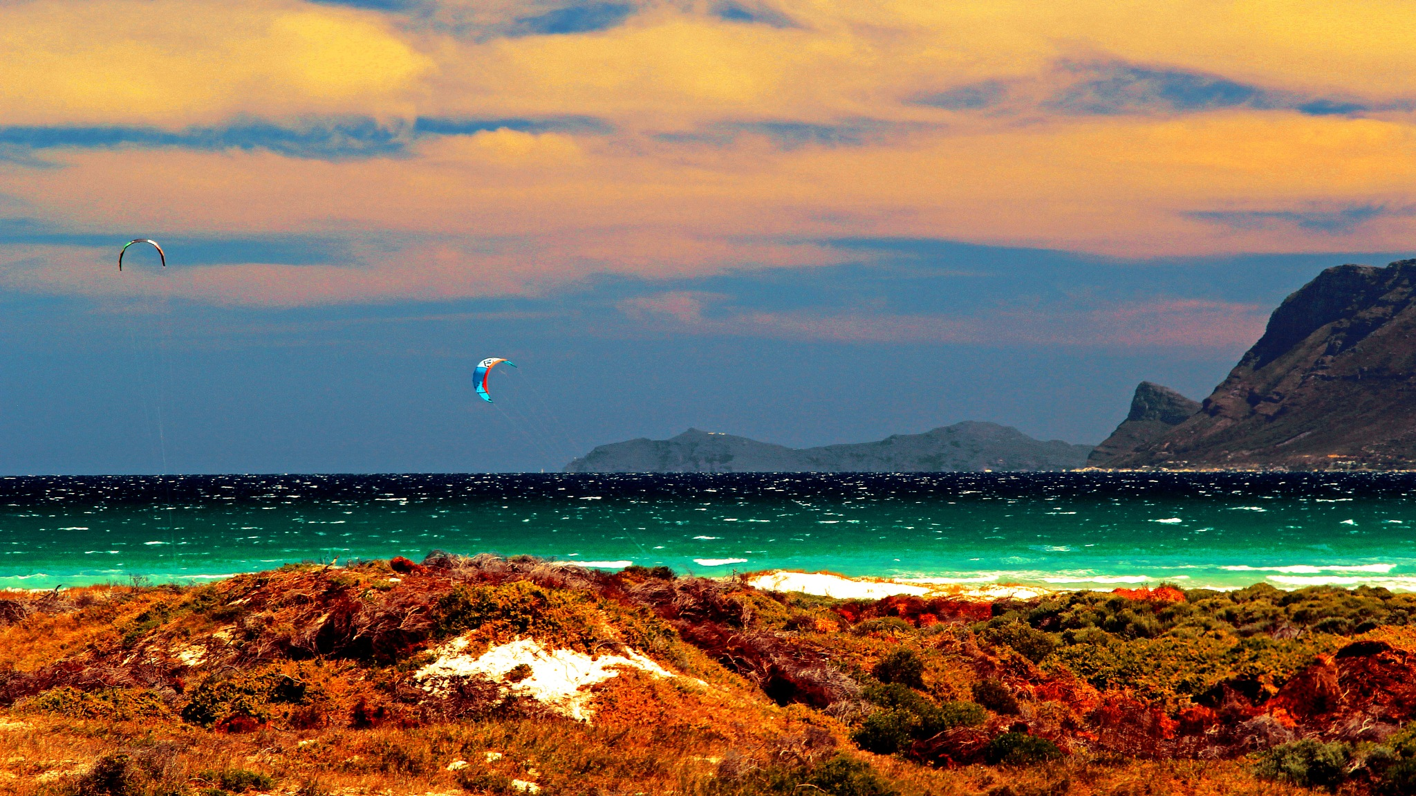 Kite Surfers by Nauta Piscatorque