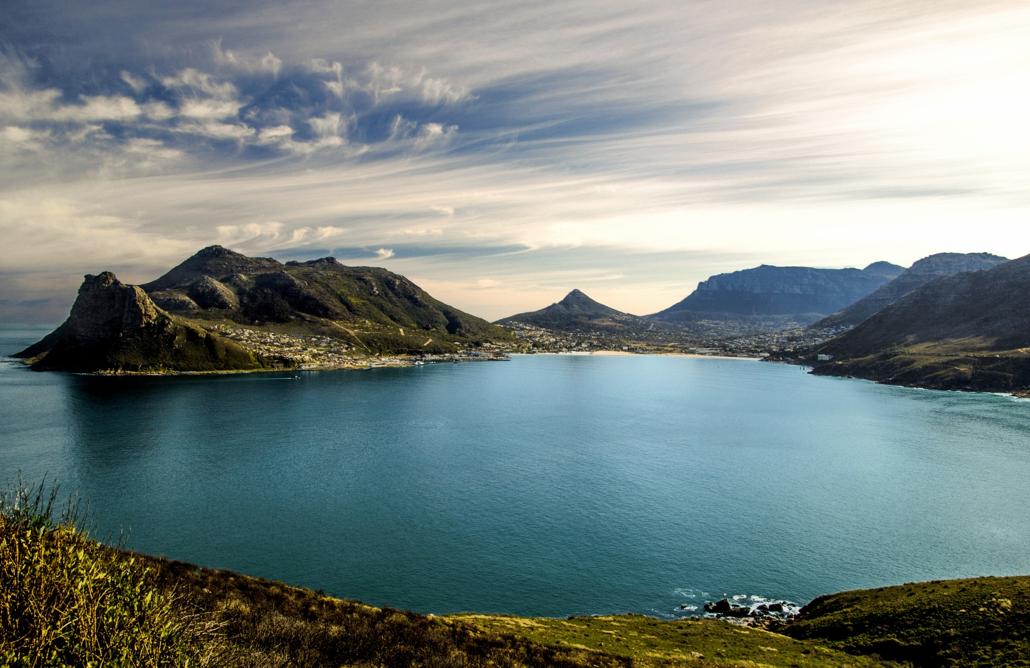 Hout Bay this morning by Nauta Piscatorque