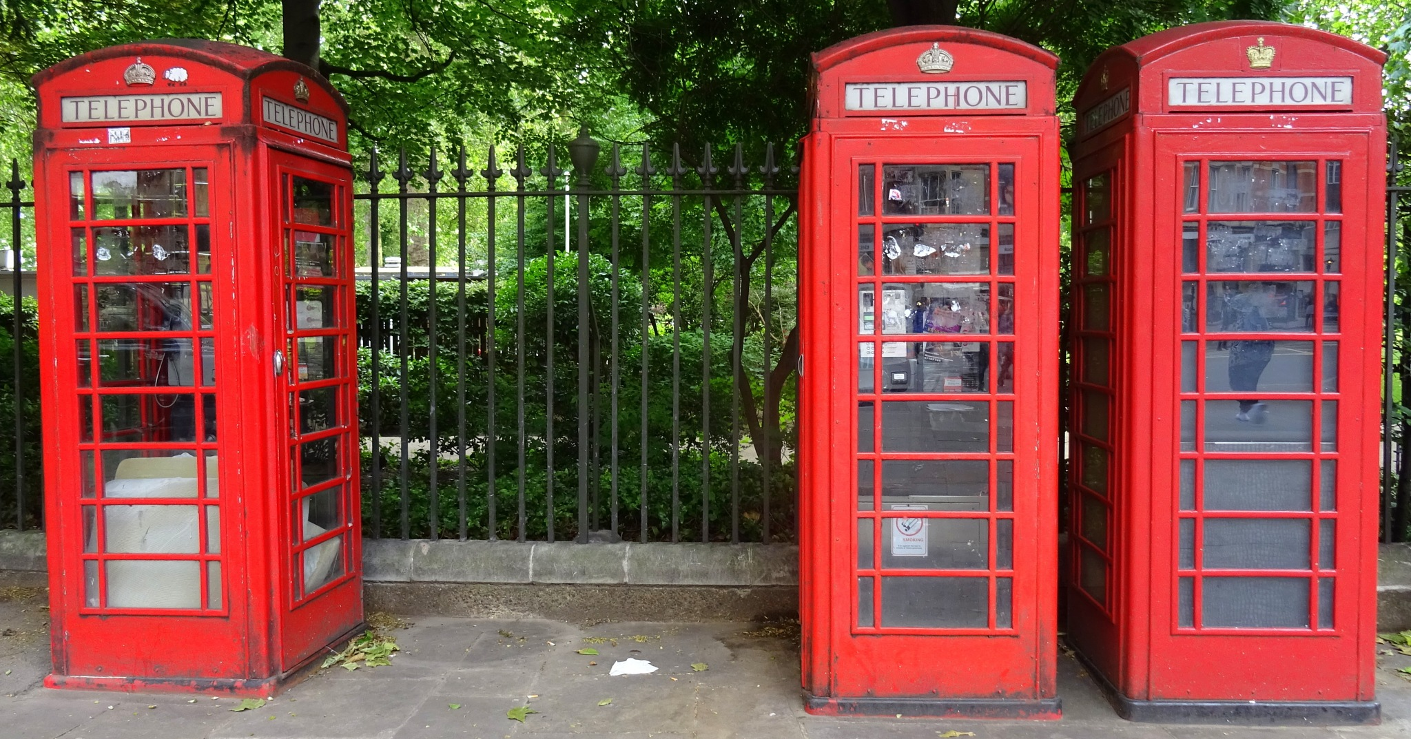 London Telephone Boxes by Gilbert Aldous