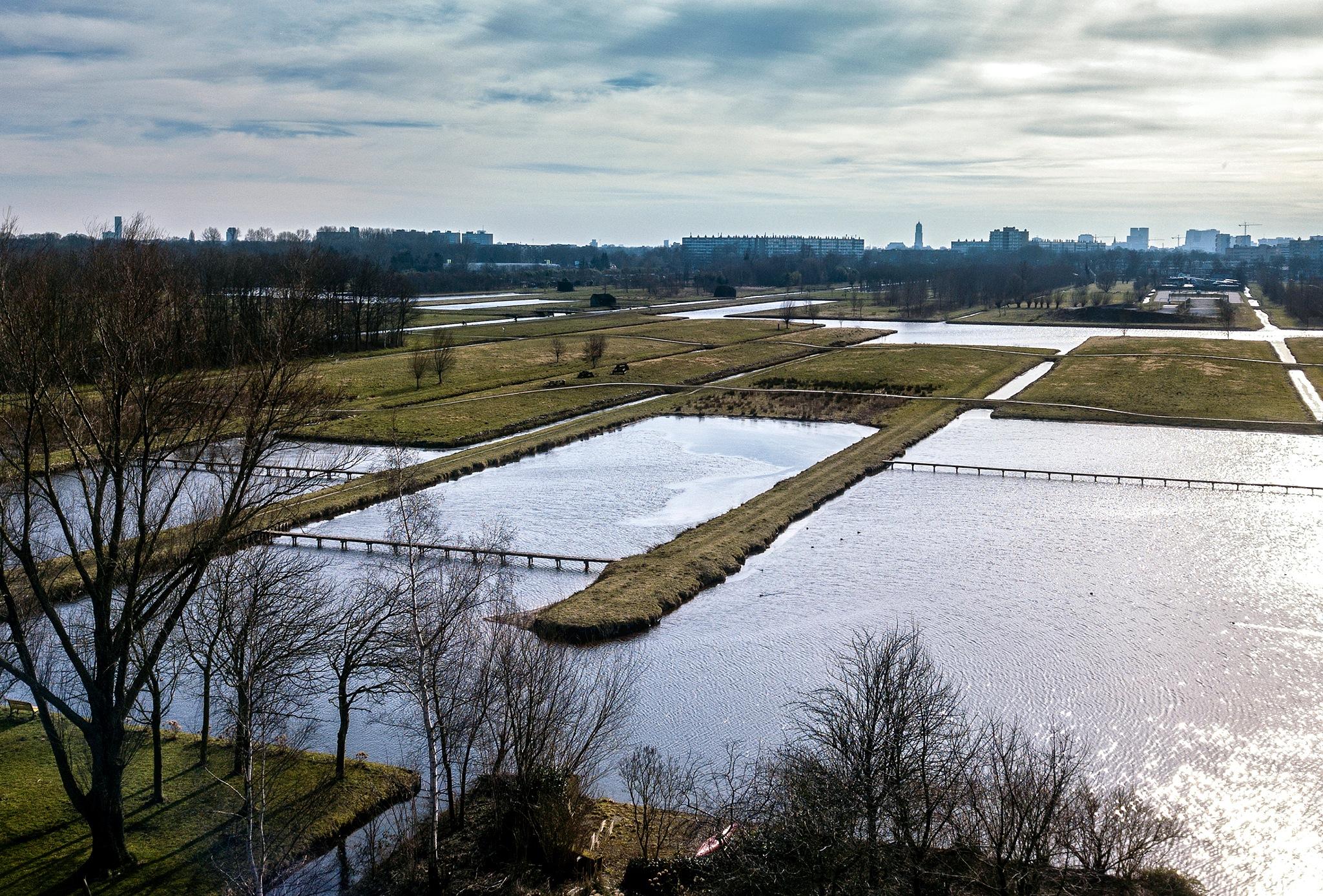 View on Utrecht  by Wim Van De Meerendonk