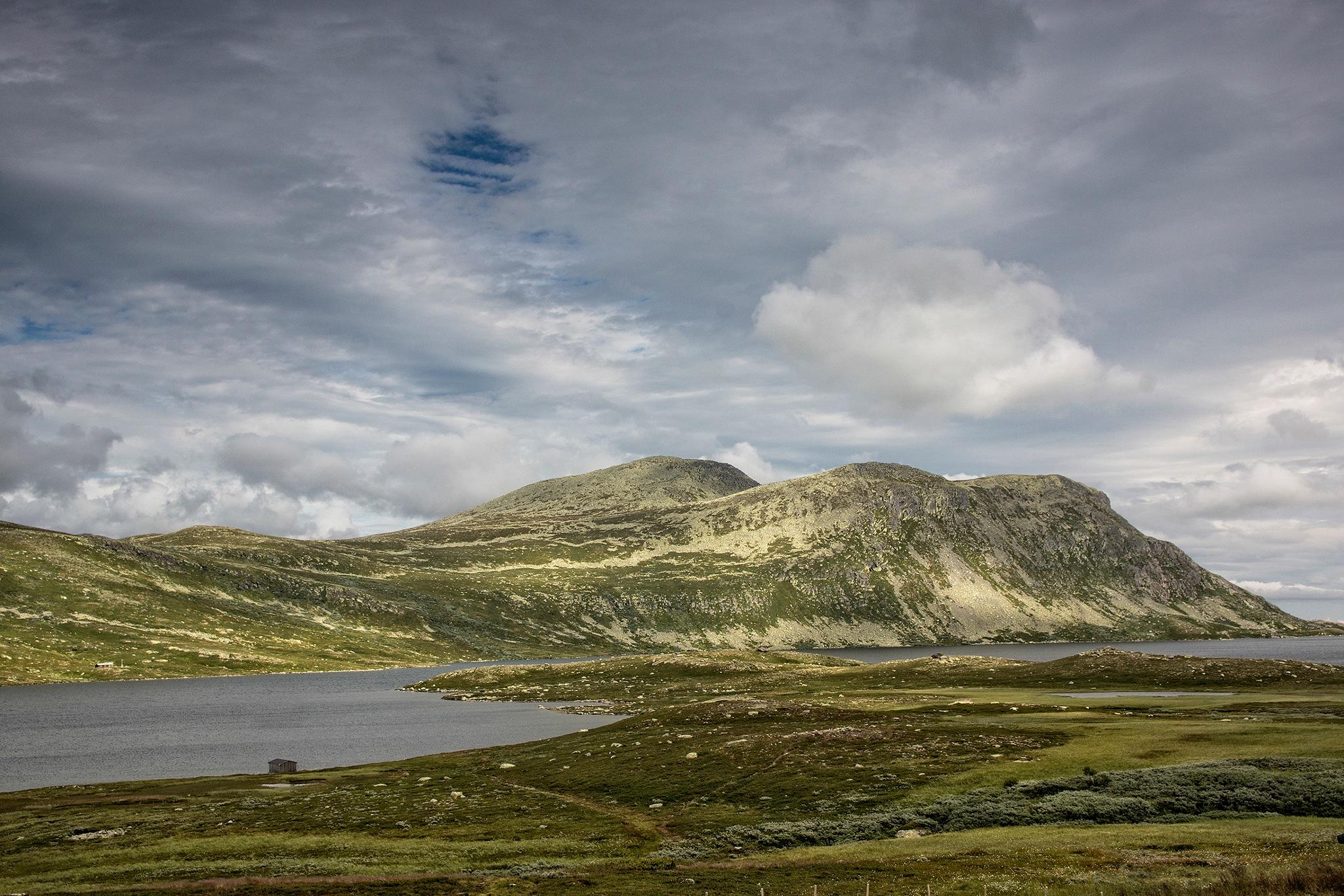 View on Heddensvatn by Wim Van De Meerendonk