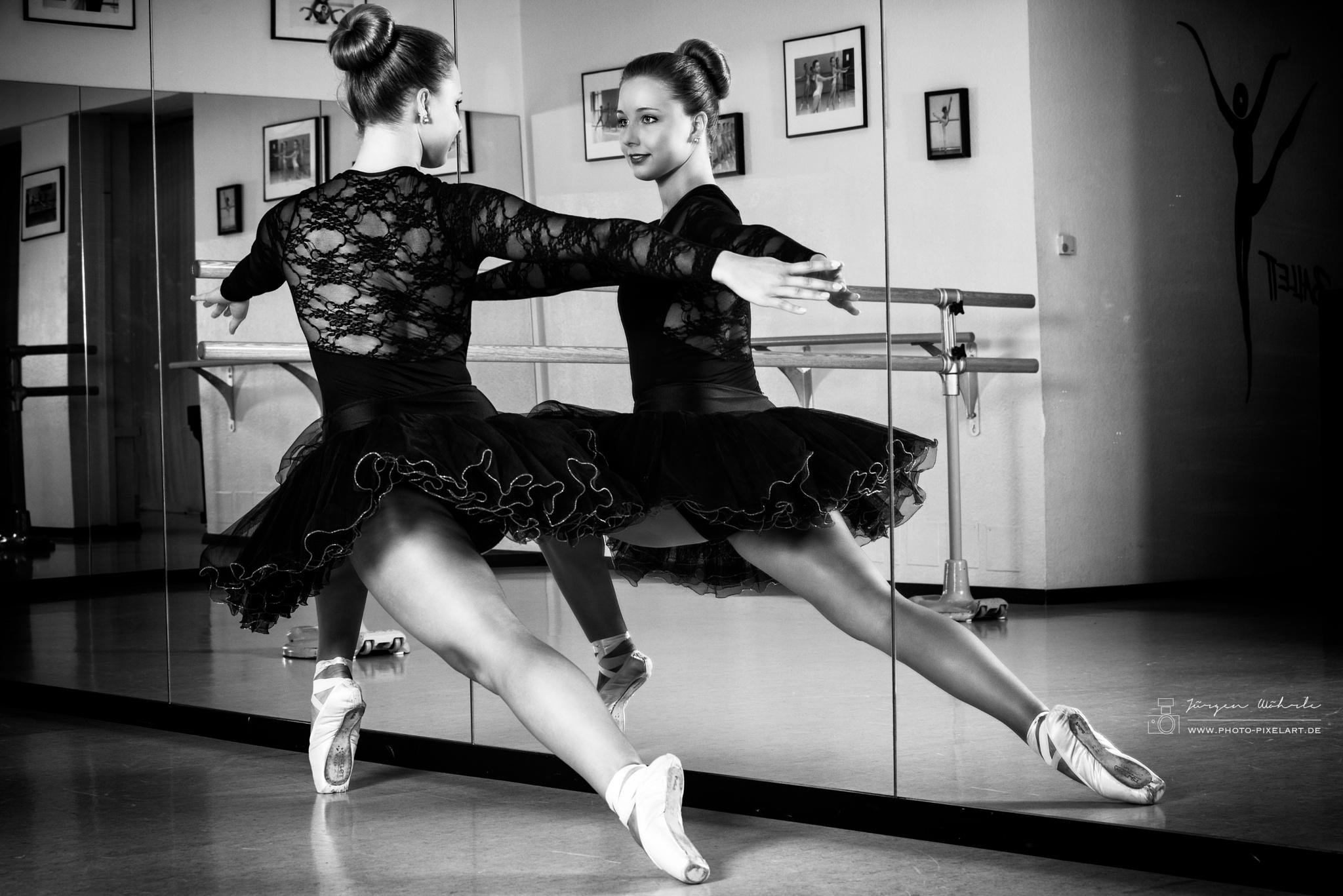 Ballett by Jürgen Wöhrle by Photo-Pixelart