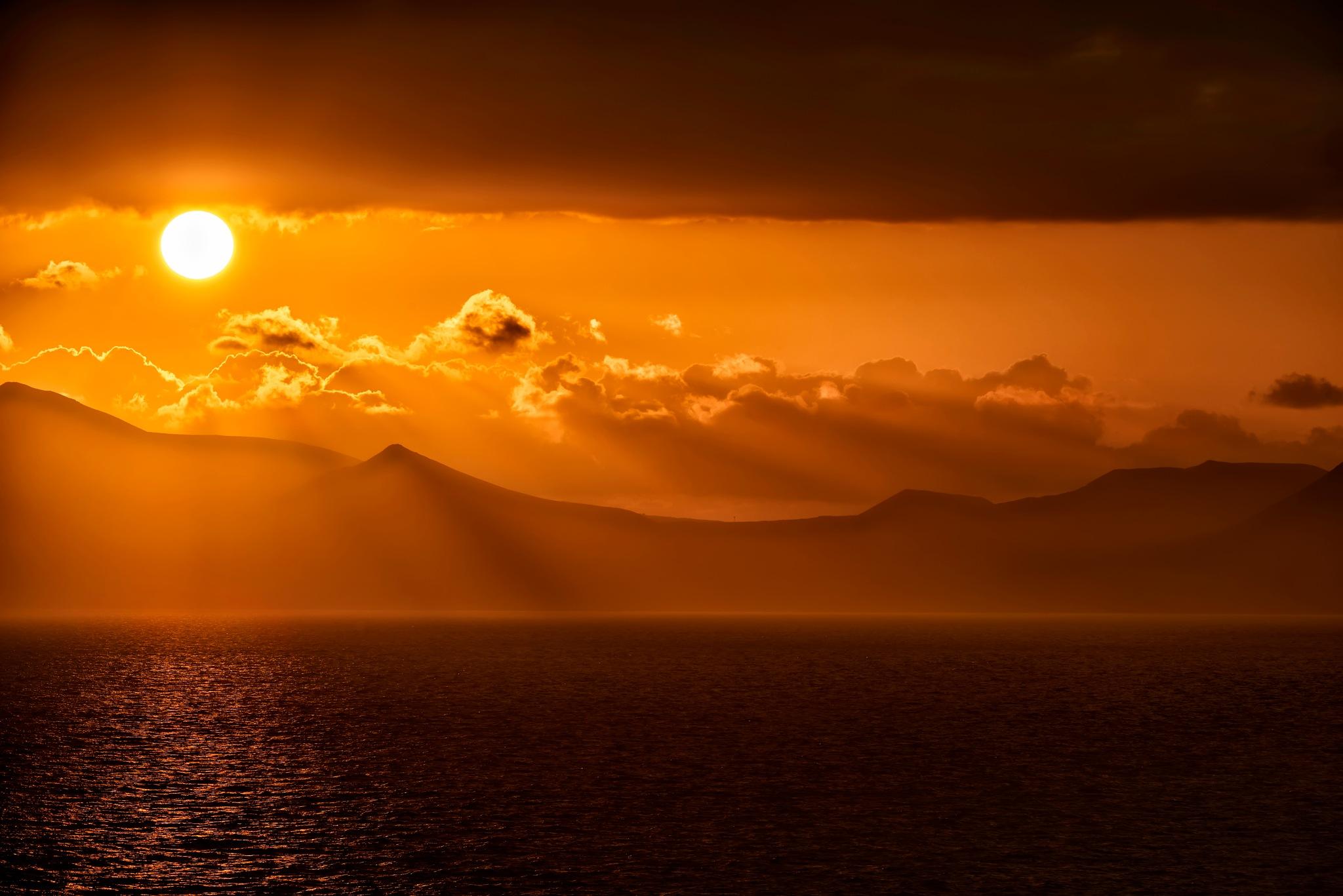 Burning Sun by Silviu Gheorghe Ionut