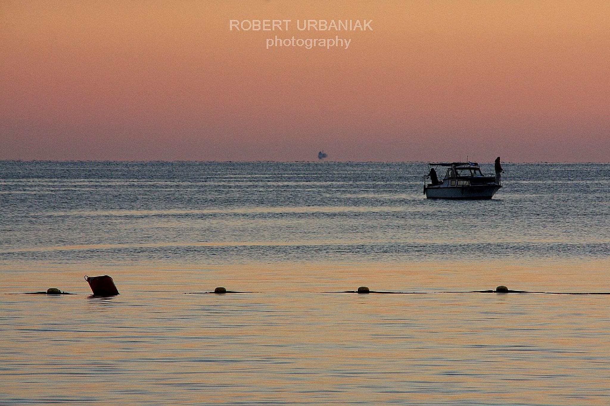 fishing by Robert Urbaniak