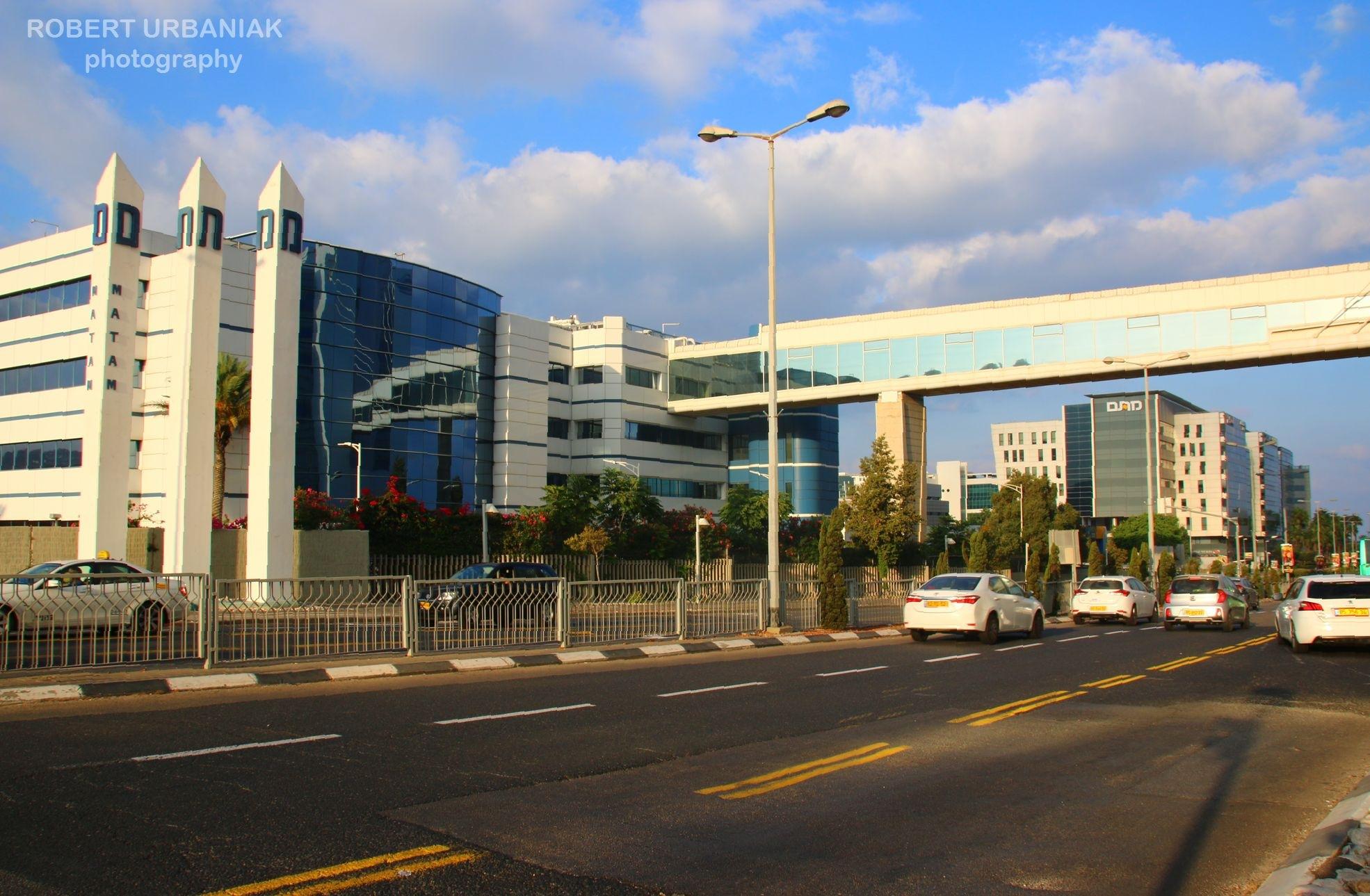 Intel building by Robert Urbaniak