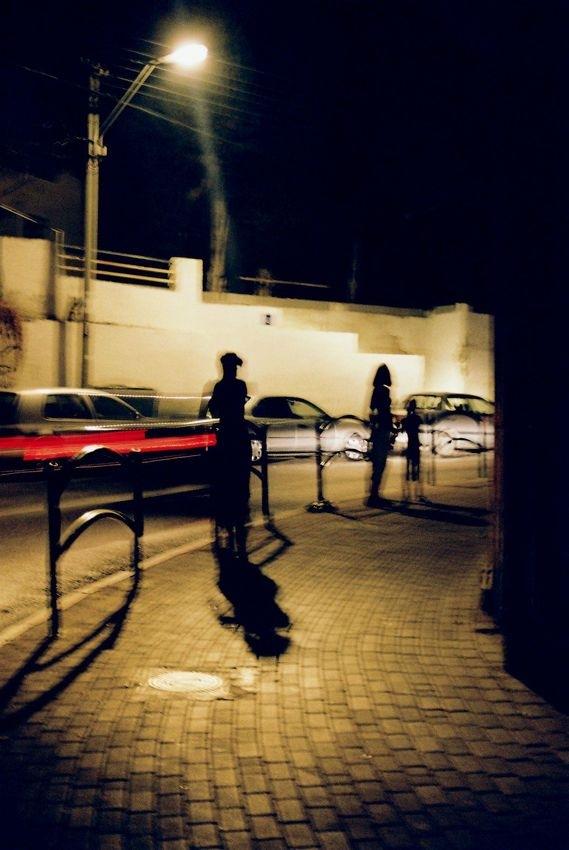 on the corner by Robert Urbaniak